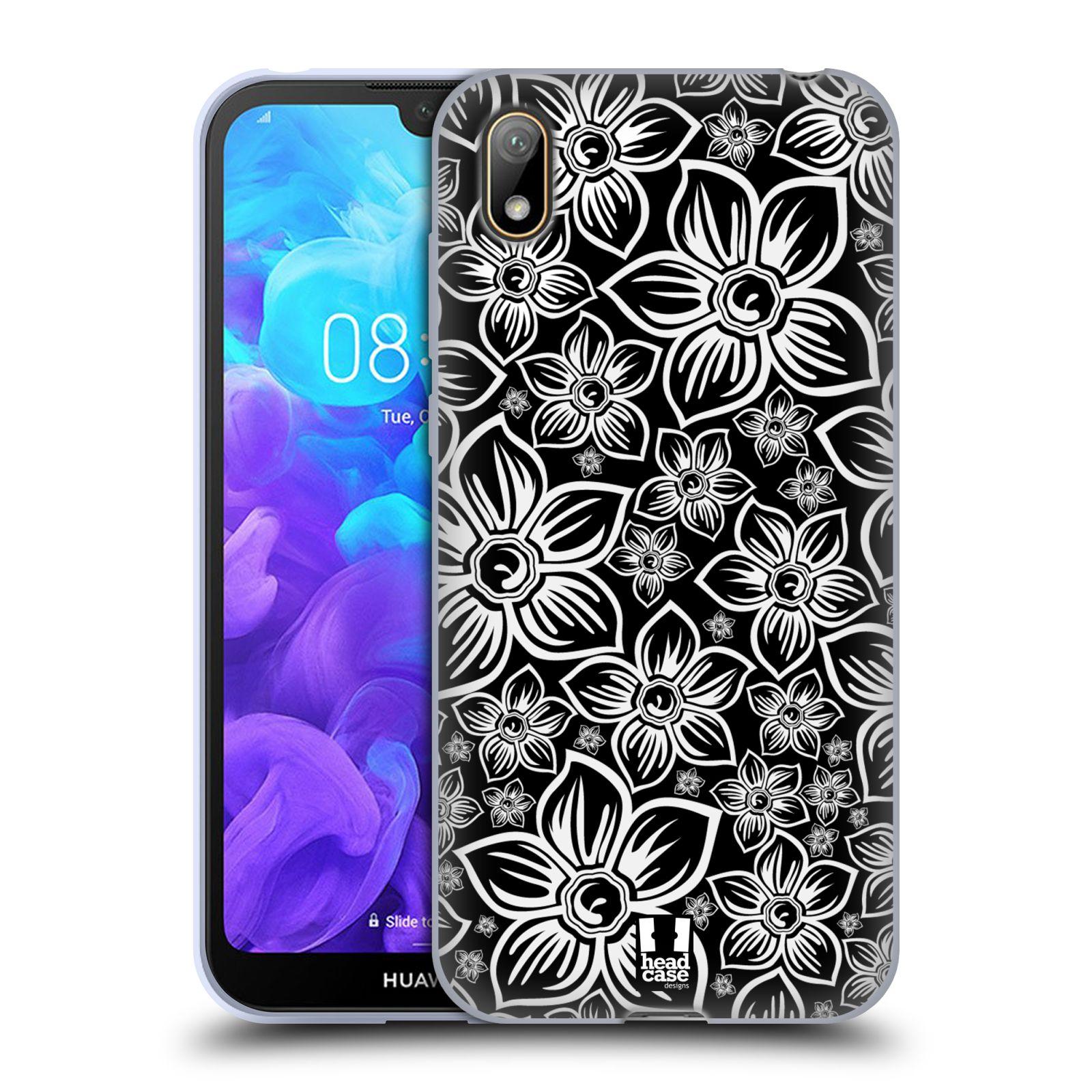 Silikonové pouzdro na mobil Huawei Y5 (2019) - Head Case - FLORAL DAISY