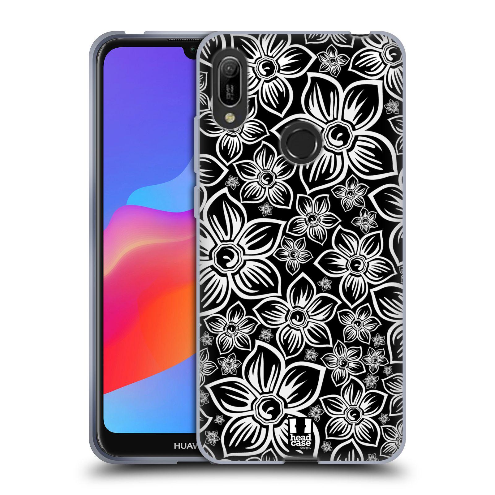 Silikonové pouzdro na mobil Huawei Y6 (2019) - Head Case - FLORAL DAISY