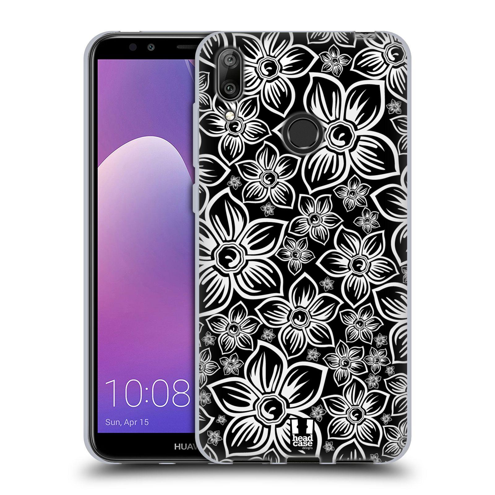 Silikonové pouzdro na mobil Huawei Y7 (2019) - Head Case - FLORAL DAISY