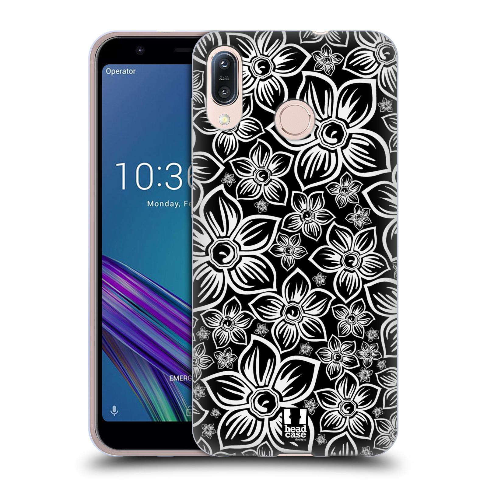 Silikonové pouzdro na mobil Asus Zenfone Max M1 ZB555KL - Head Case - FLORAL DAISY