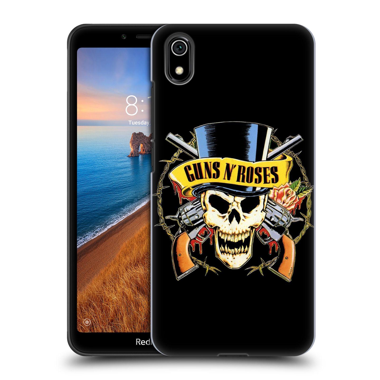 Plastové pouzdro na mobil Xiaomi Redmi 7A - Head Case - Guns N' Roses - Lebka