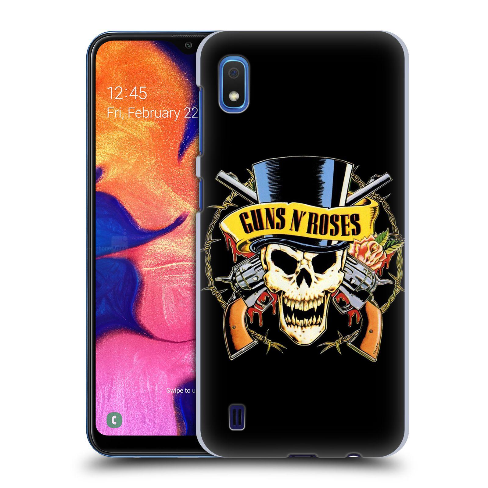 Plastové pouzdro na mobil Samsung Galaxy A10 - Head Case - Guns N' Roses - Lebka