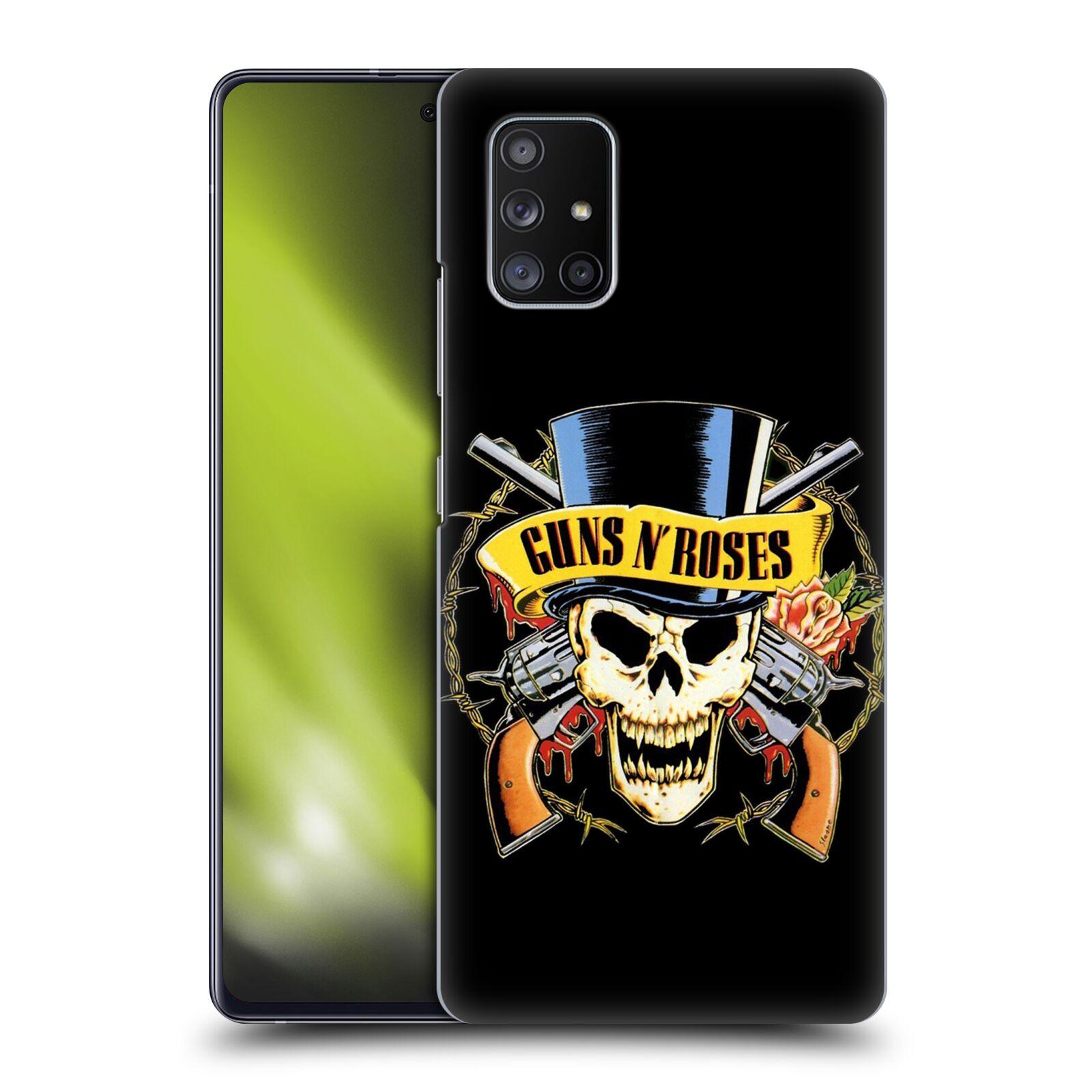 Plastové pouzdro na mobil Samsung Galaxy A51 5G - Head Case - Guns N' Roses - Lebka