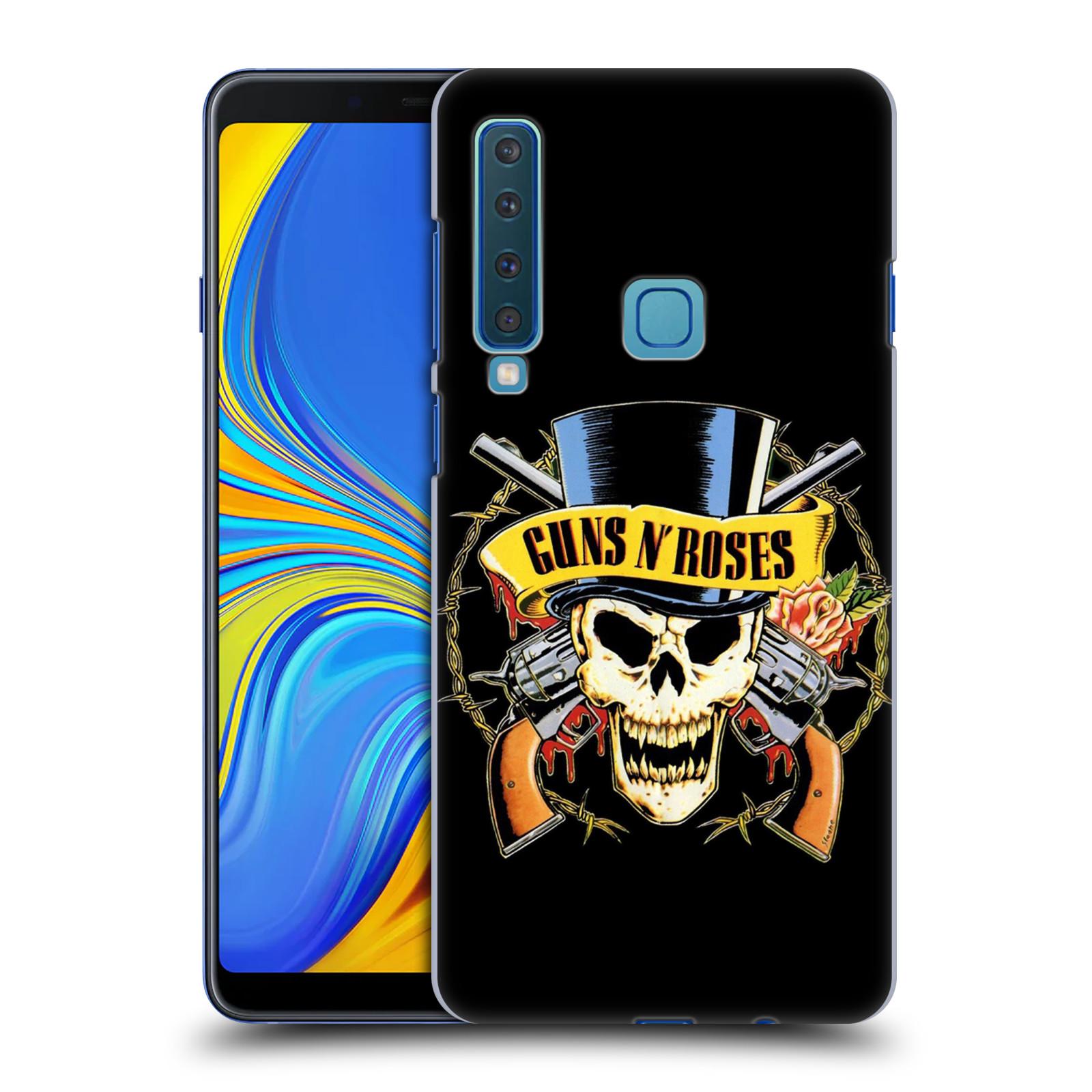 Plastové pouzdro na mobil Samsung Galaxy A9 (2018) - Head Case - Guns N' Roses - Lebka
