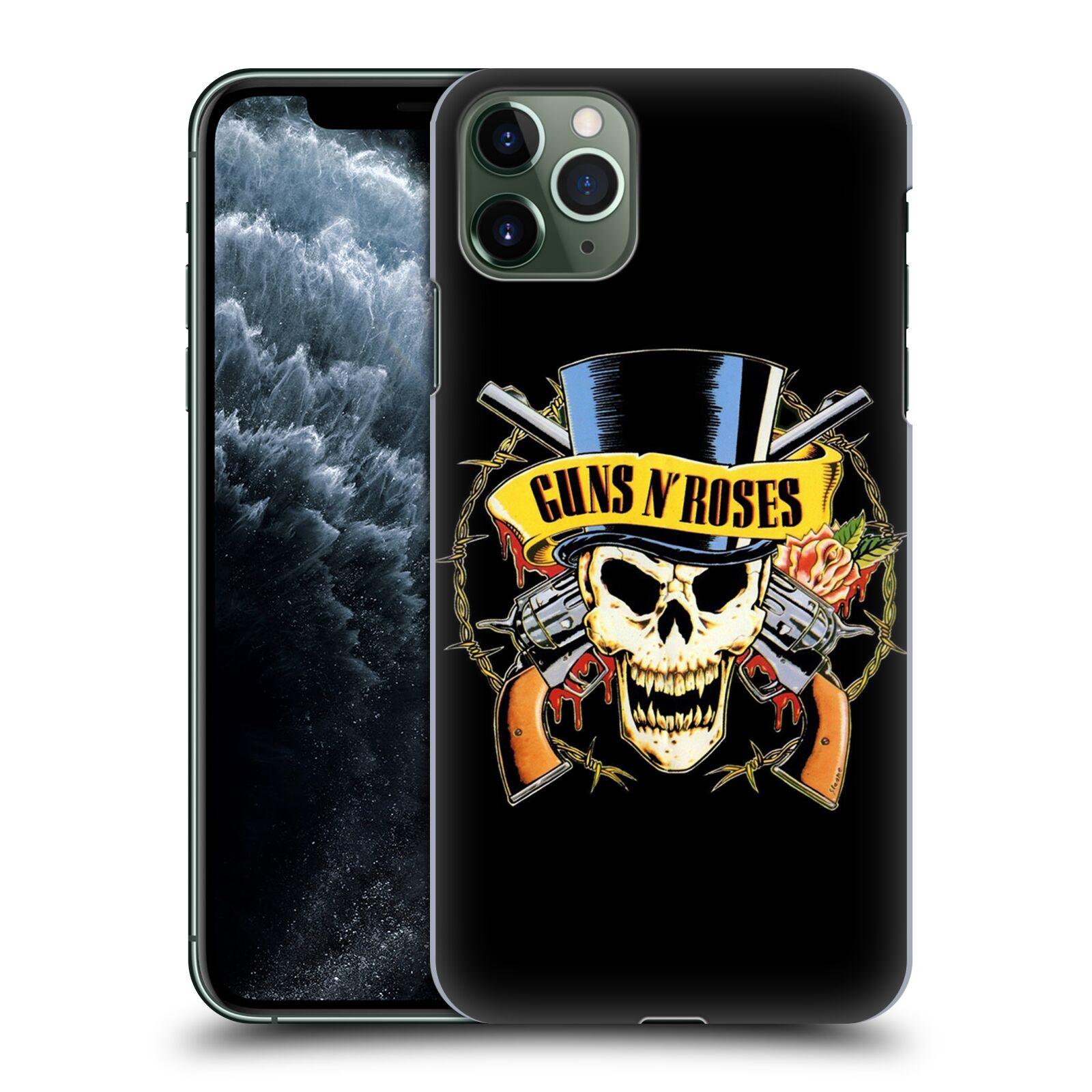 Plastové pouzdro na mobil Apple iPhone 11 Pro Max - Head Case - Guns N' Roses - Lebka