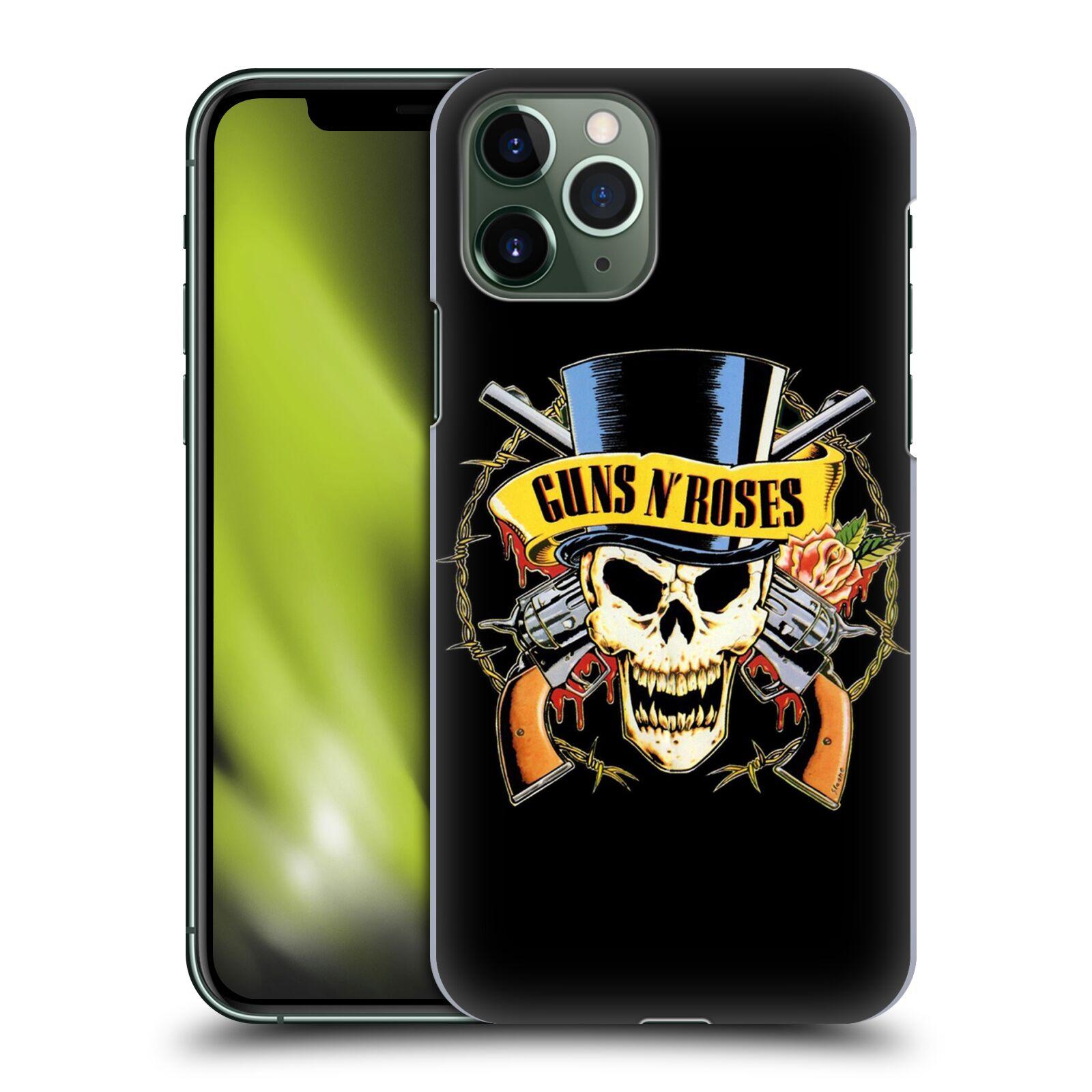Plastové pouzdro na mobil Apple iPhone 11 Pro - Head Case - Guns N' Roses - Lebka