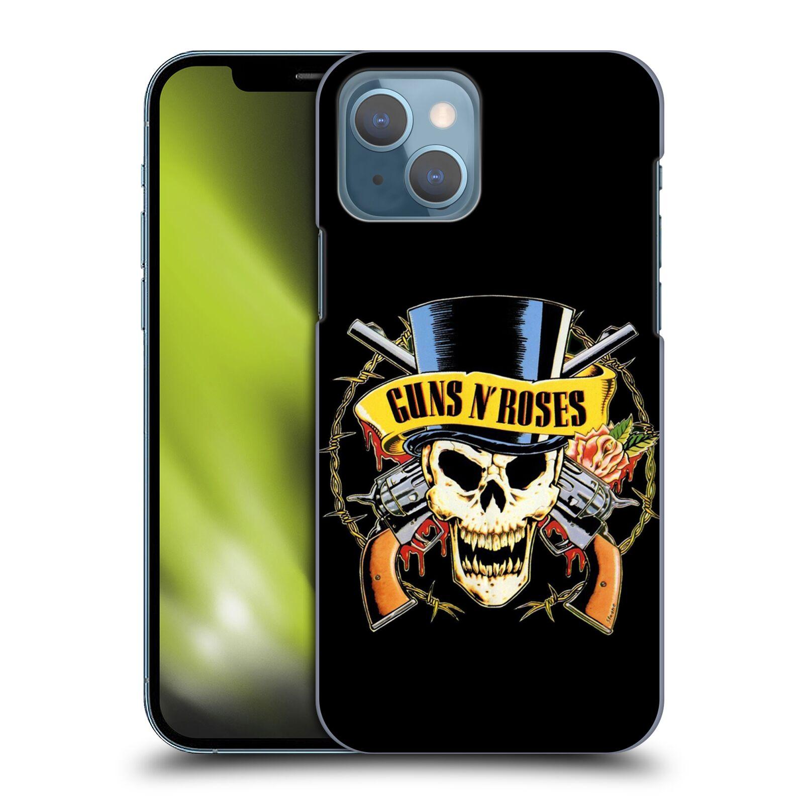 Plastové pouzdro na mobil Apple iPhone 13 - Head Case - Guns N' Roses - Lebka