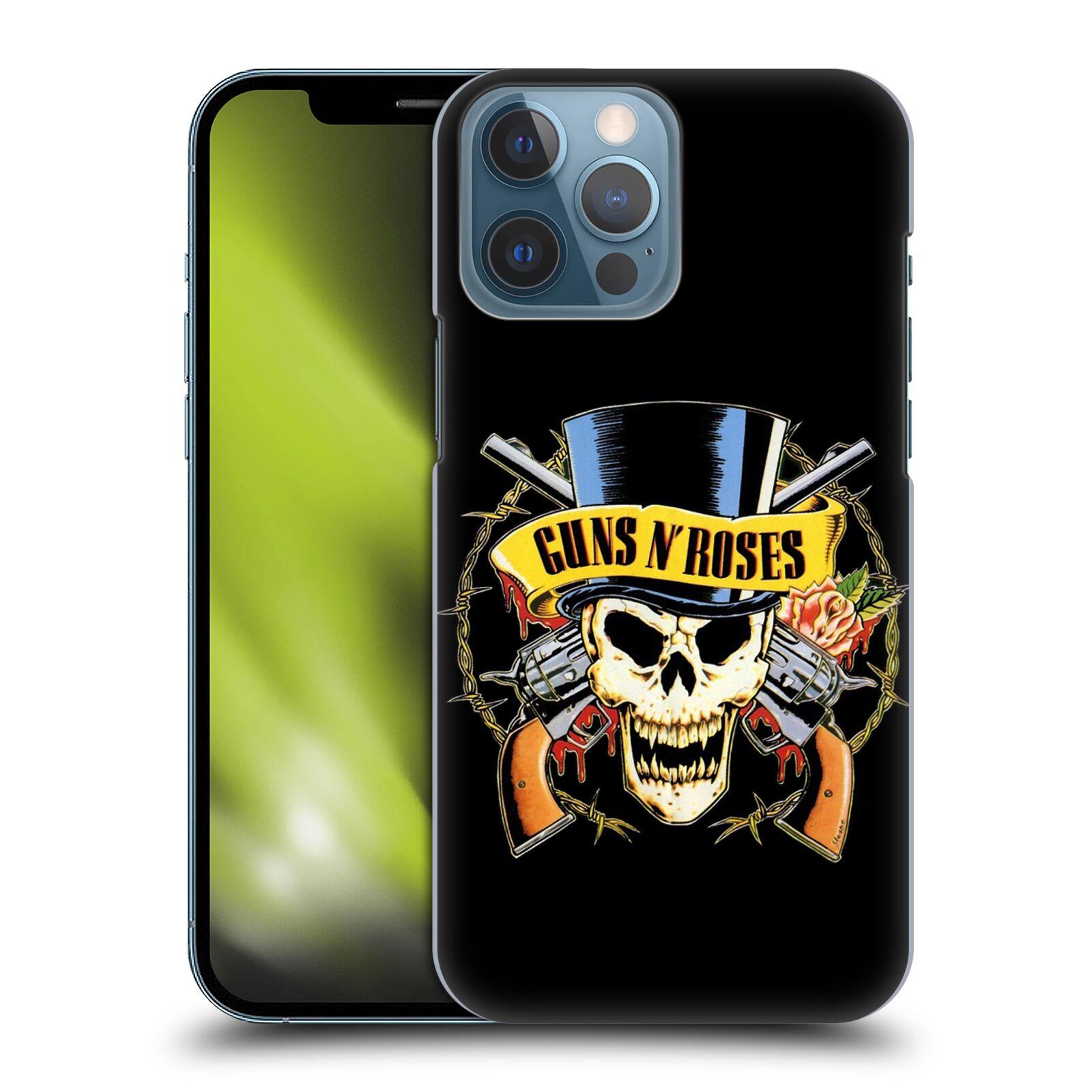 Plastové pouzdro na mobil Apple iPhone 13 Pro Max - Head Case - Guns N' Roses - Lebka