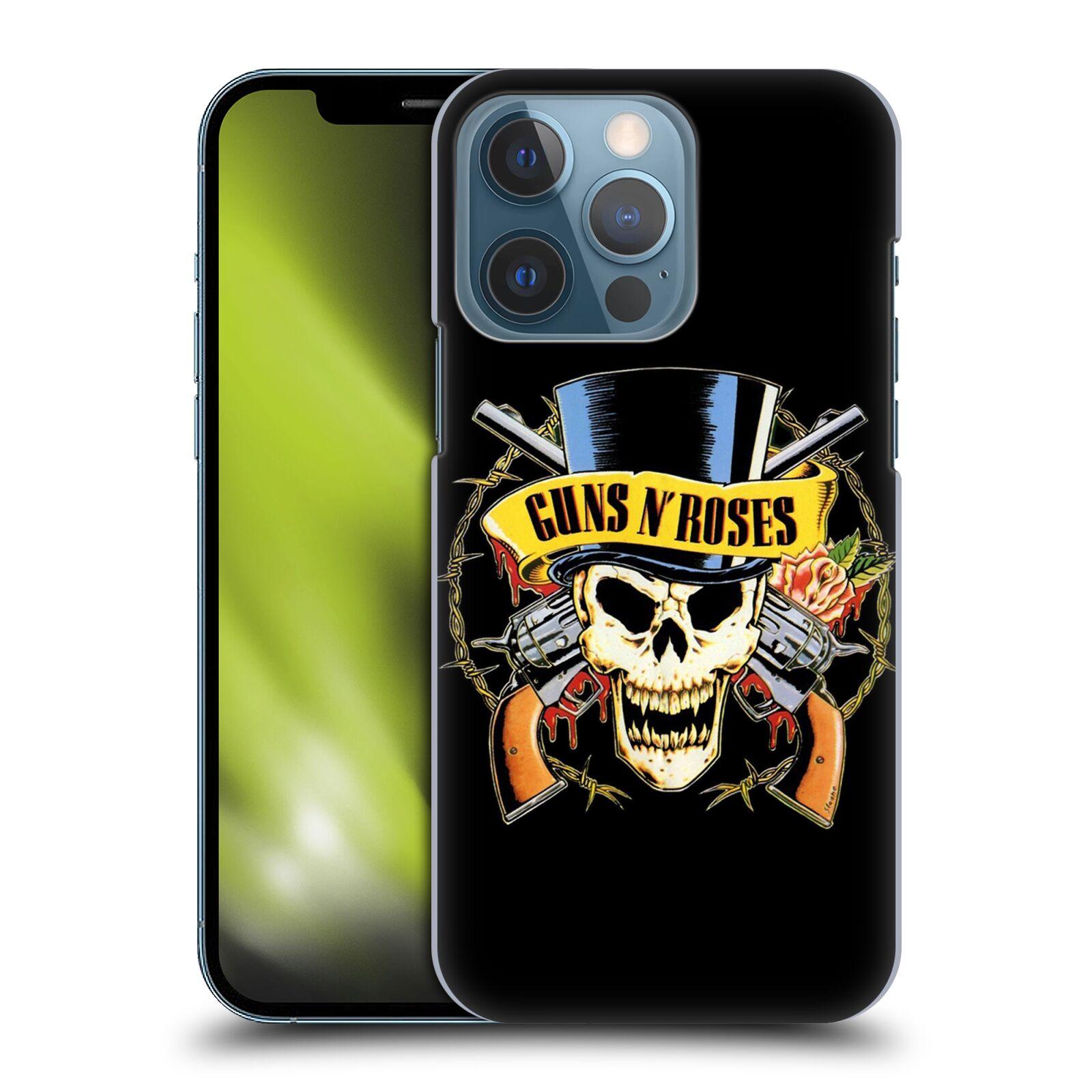 Plastové pouzdro na mobil Apple iPhone 13 Pro - Head Case - Guns N' Roses - Lebka