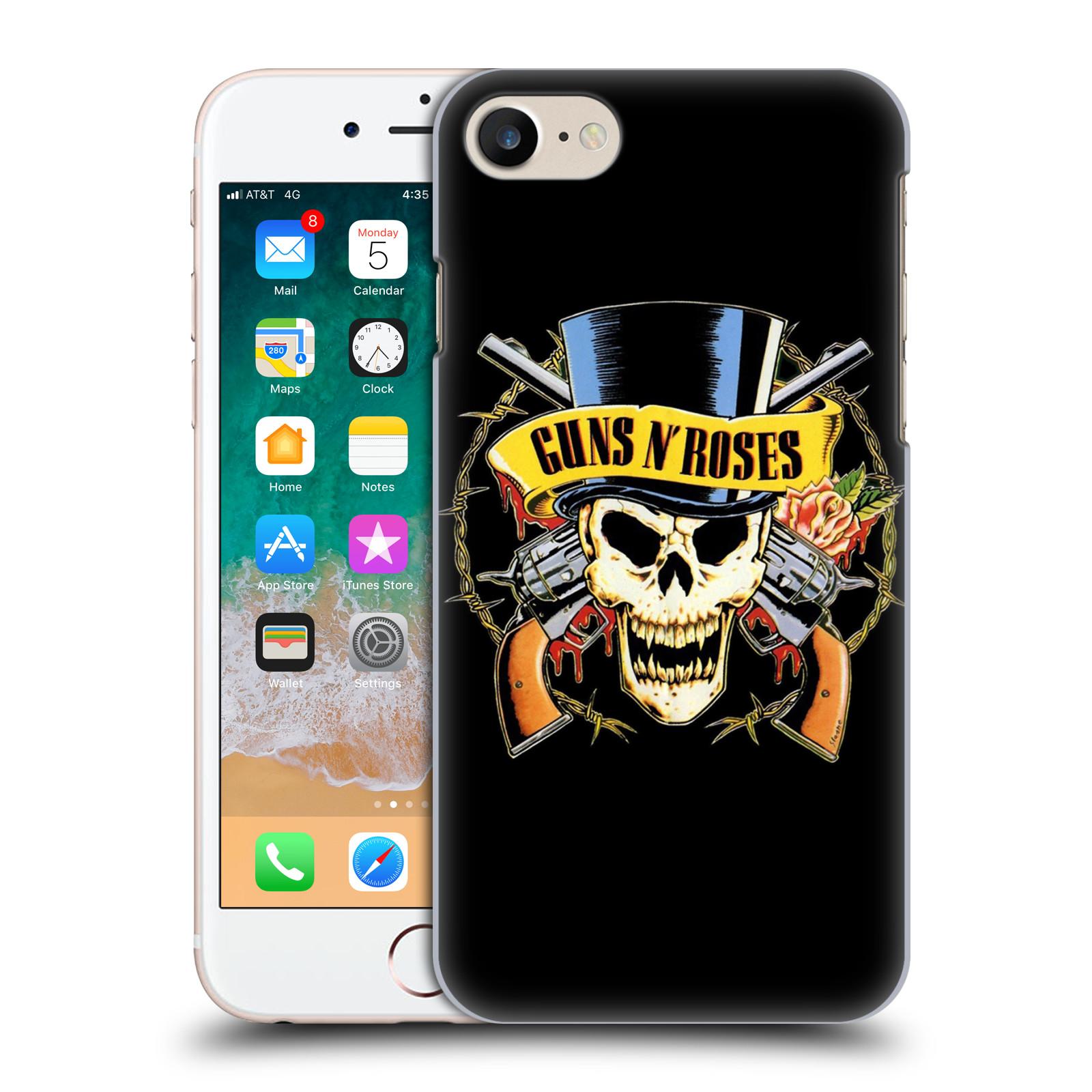 Plastové pouzdro na mobil Apple iPhone SE (2020) - Head Case - Guns N' Roses - Lebka
