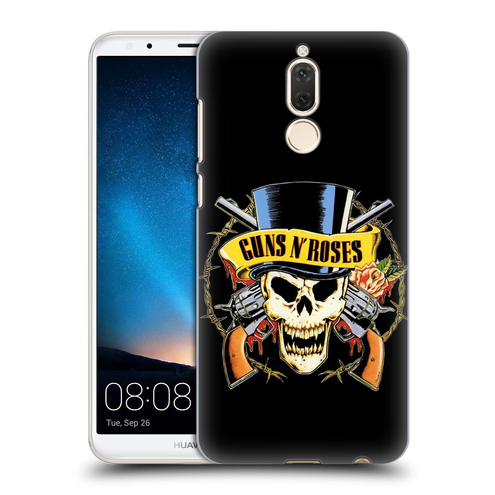 Plastové pouzdro na mobil Huawei Mate 10 Lite - Head Case - Guns N' Roses - Lebka