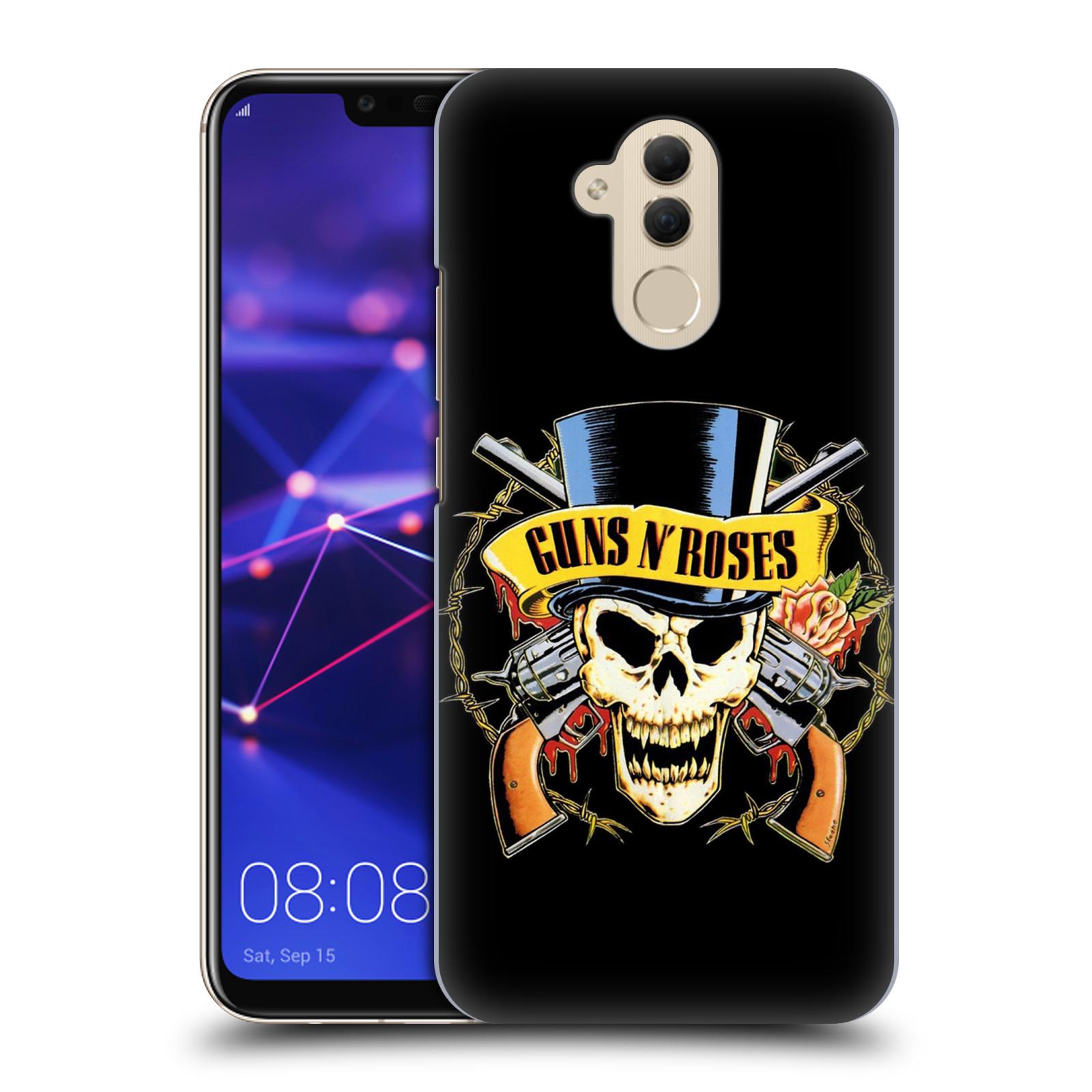 Plastové pouzdro na mobil Huawei Mate 20 Lite - Head Case - Guns N' Roses - Lebka