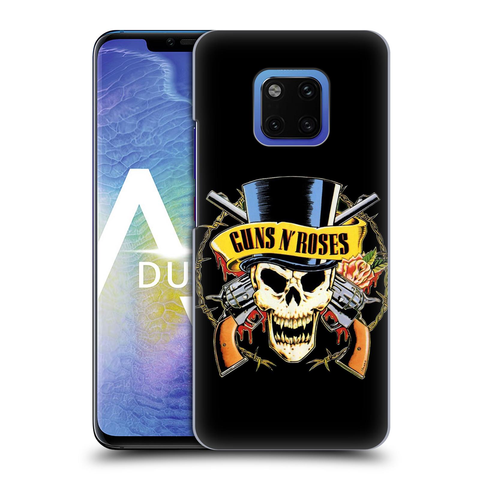 Plastové pouzdro na mobil Huawei Mate 20 Pro - Head Case - Guns N' Roses - Lebka