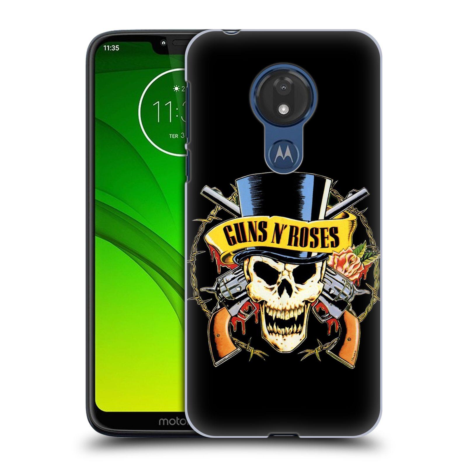 Plastové pouzdro na mobil Motorola Moto G7 Power - Head Case - Guns N' Roses - Lebka