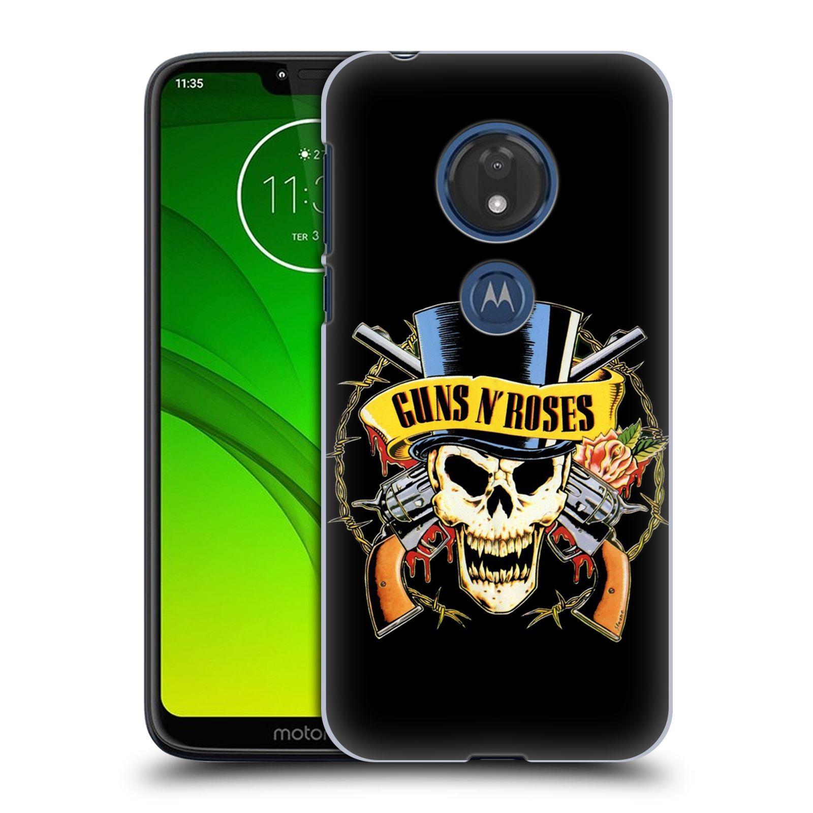 Plastové pouzdro na mobil Motorola Moto G7 Play - Head Case - Guns N' Roses - Lebka