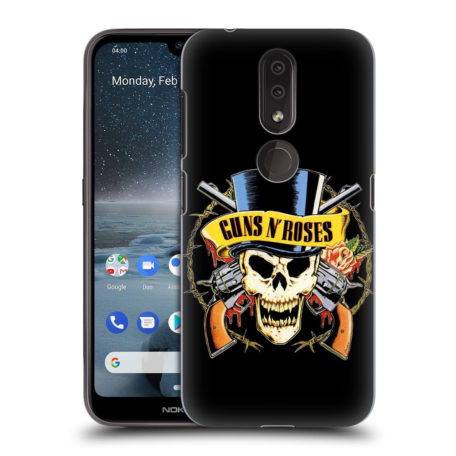 Plastové pouzdro na mobil Nokia 4.2 - Head Case - Guns N' Roses - Lebka
