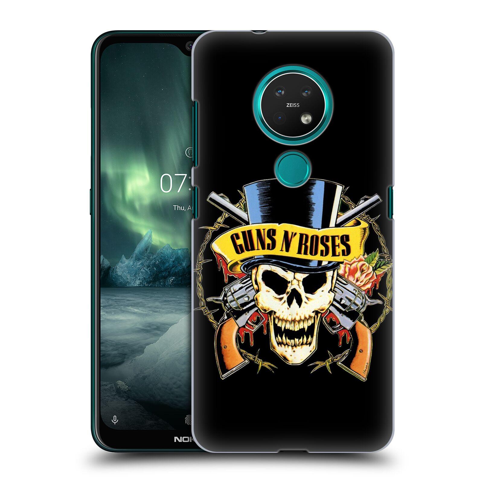 Plastové pouzdro na mobil Nokia 7.2 - Head Case - Guns N' Roses - Lebka