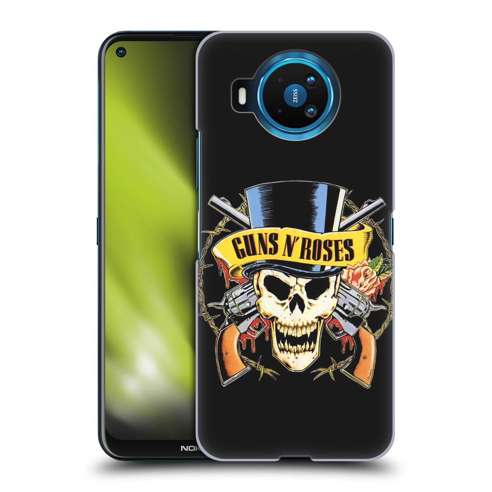 Plastové pouzdro na mobil Nokia 8.3 5G - Head Case - Guns N' Roses - Lebka