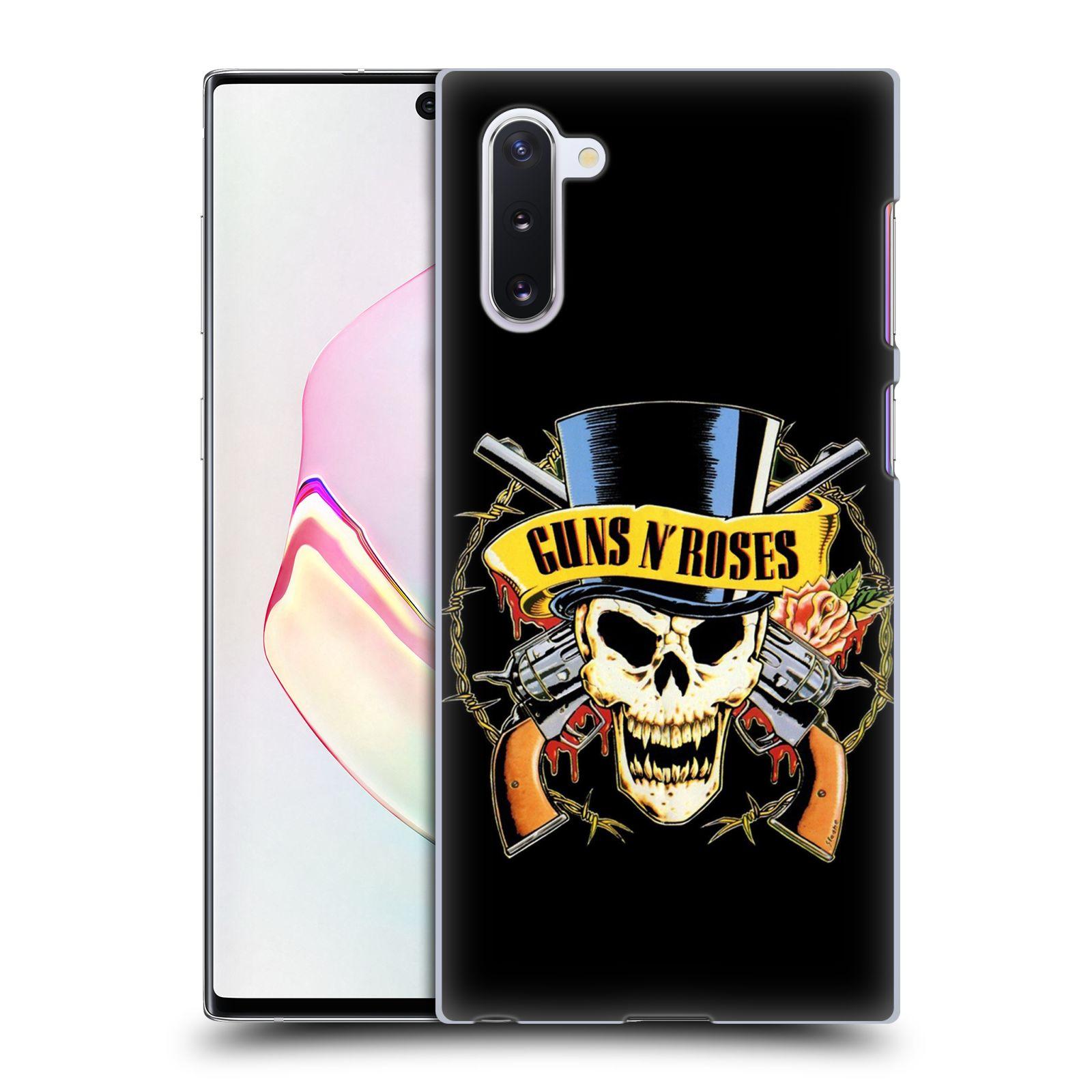 Plastové pouzdro na mobil Samsung Galaxy Note 10 - Head Case - Guns N' Roses - Lebka