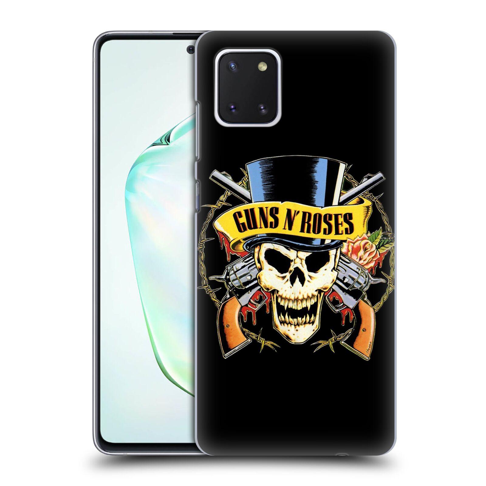 Plastové pouzdro na mobil Samsung Galaxy Note 10 Lite - Head Case - Guns N' Roses - Lebka