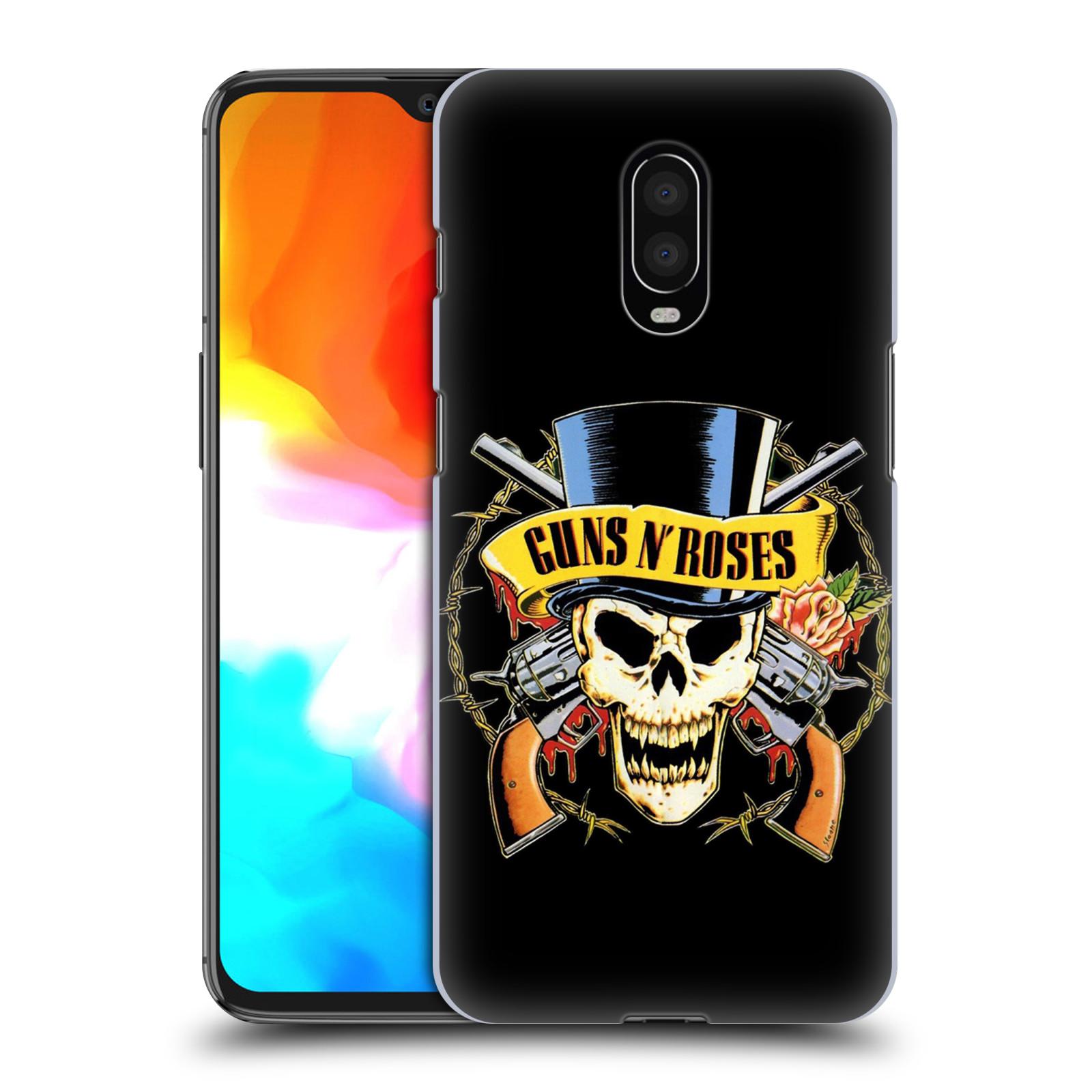Plastové pouzdro na mobil OnePlus 6T - Head Case - Guns N' Roses - Lebka