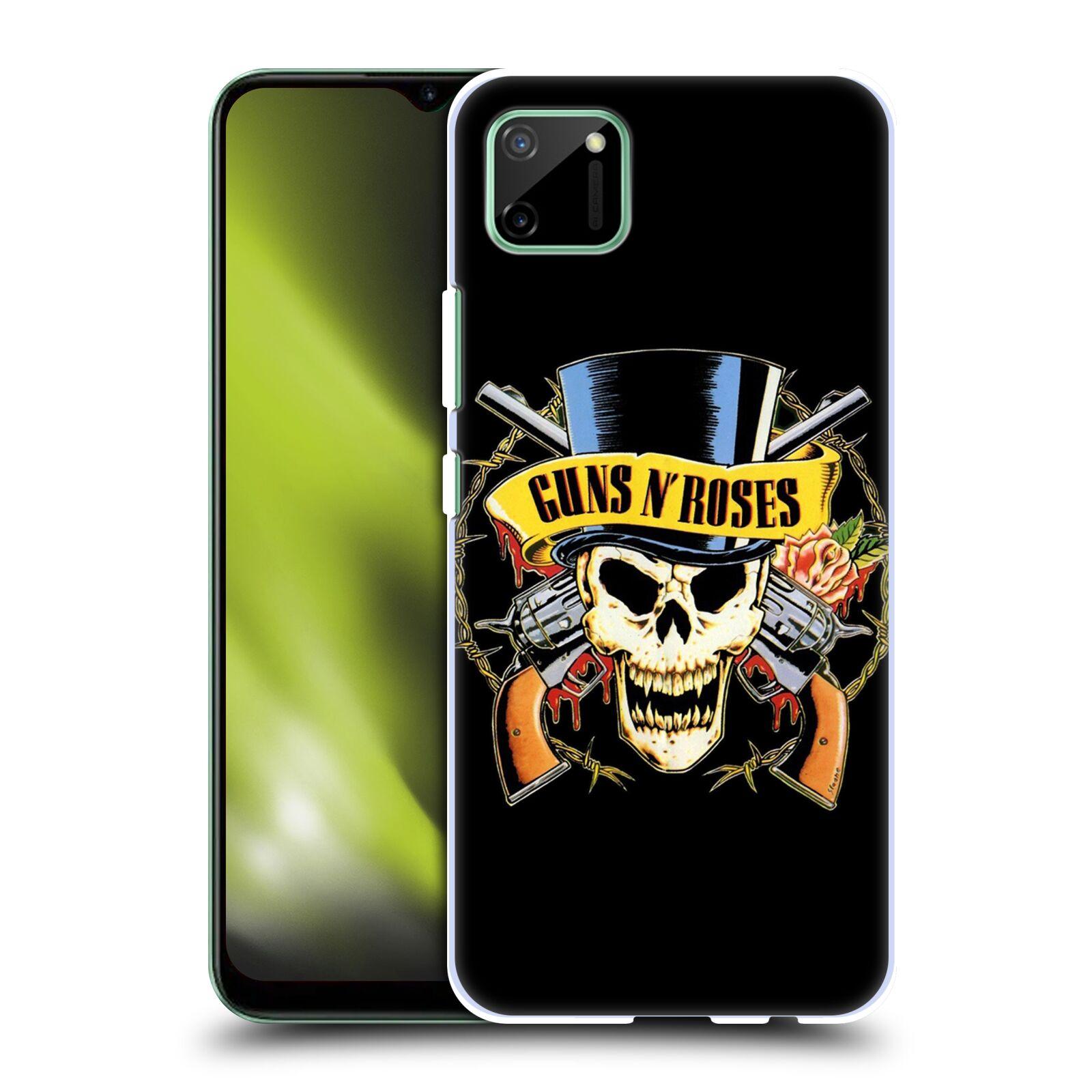 Plastové pouzdro na mobil Realme C11 - Head Case - Guns N' Roses - Lebka
