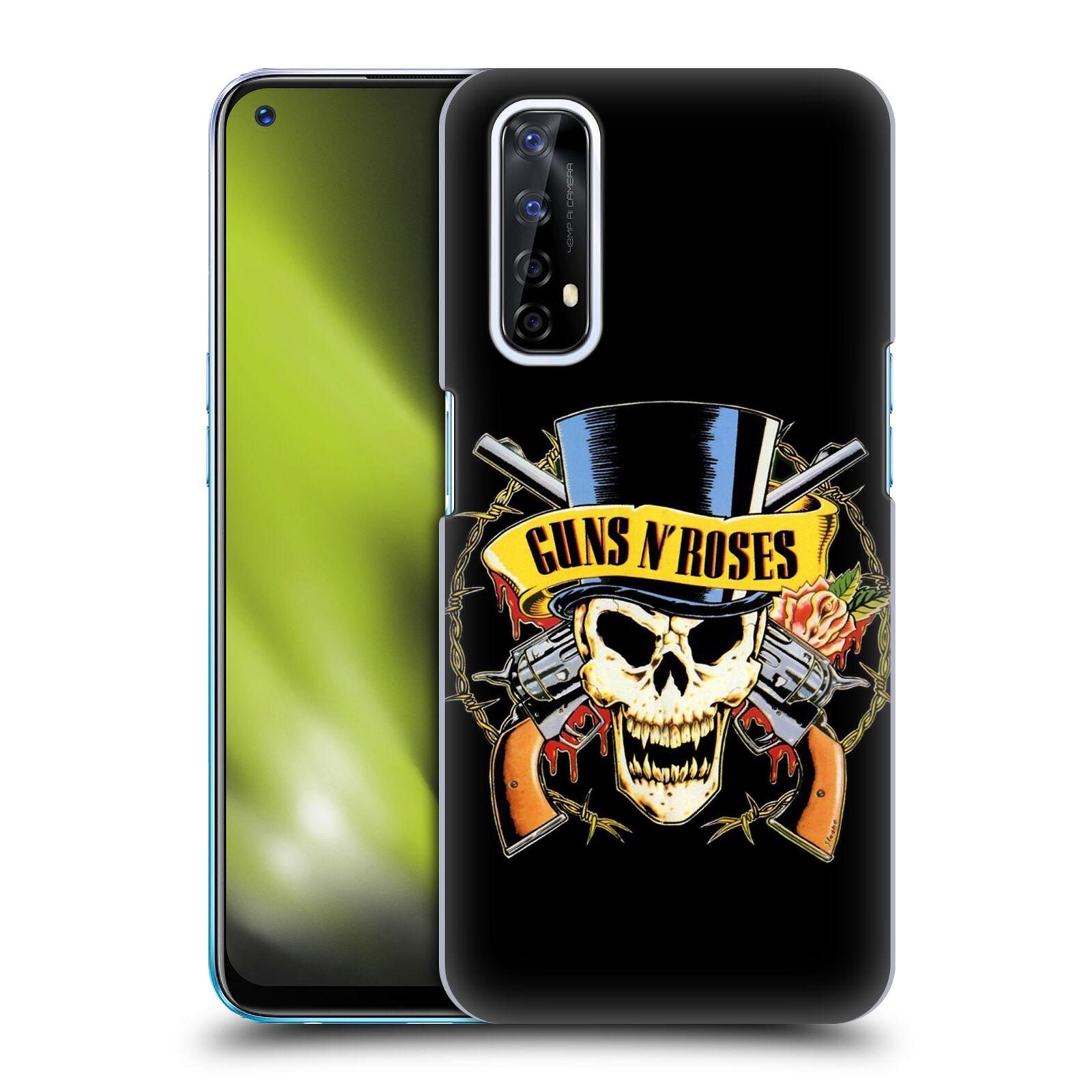 Plastové pouzdro na mobil Realme 7 - Head Case - Guns N' Roses - Lebka