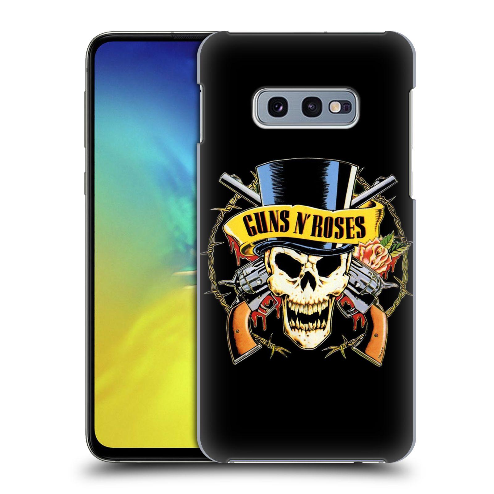 Plastové pouzdro na mobil Samsung Galaxy S10e - Head Case - Guns N' Roses - Lebka