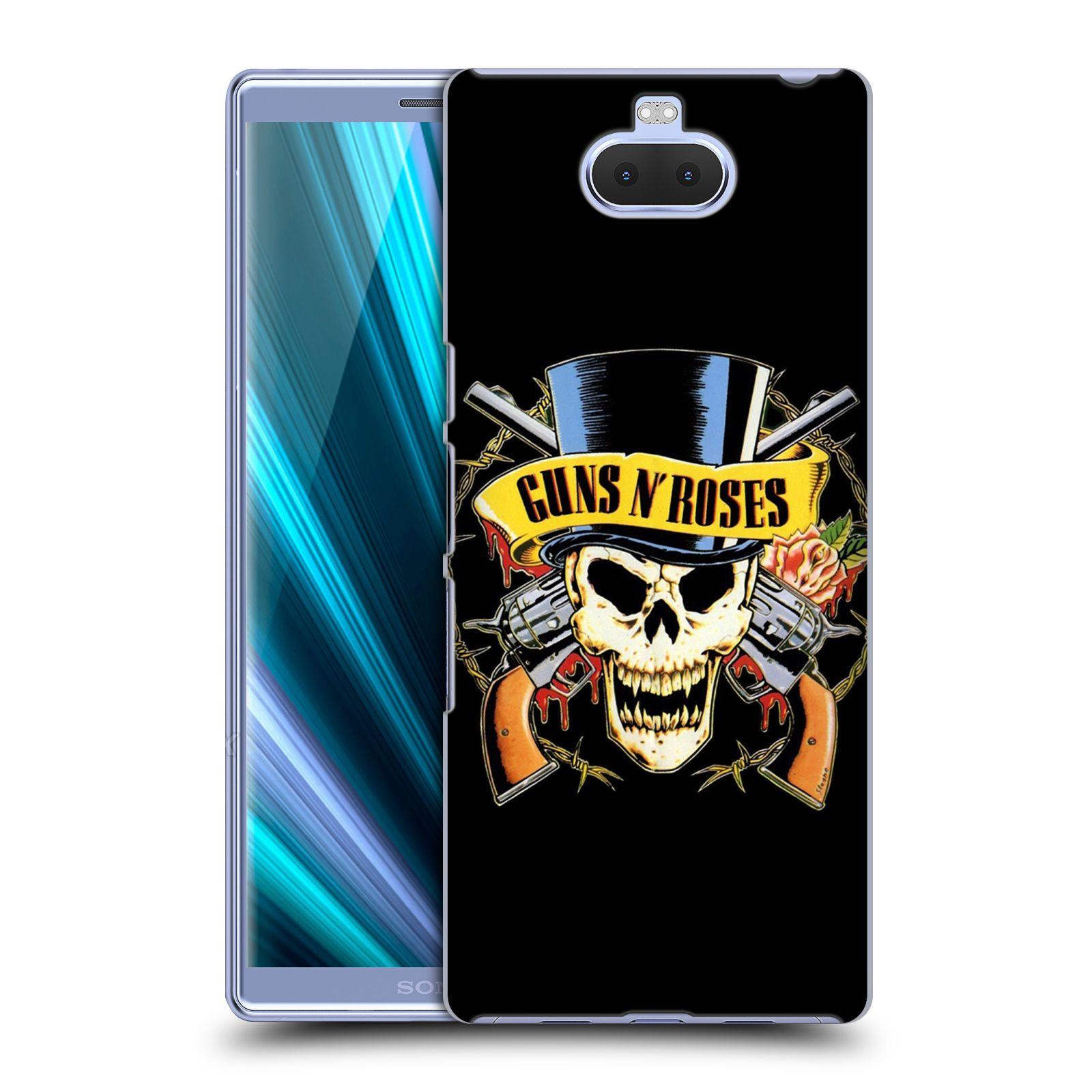 Plastové pouzdro na mobil Sony Xperia 10 - Head Case - Guns N' Roses - Lebka