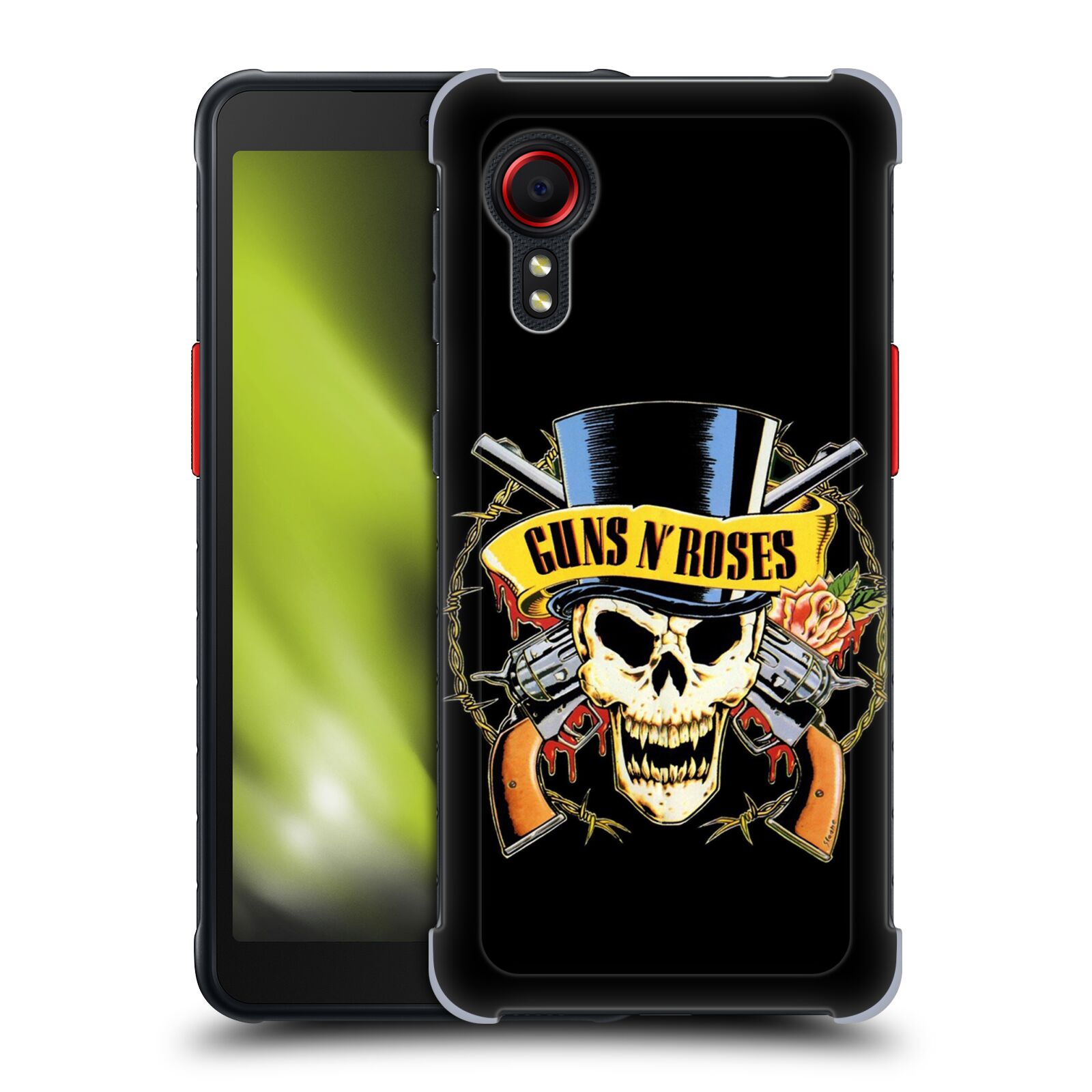 Plastové pouzdro na mobil Samsung Galaxy Xcover 5 - Head Case - Guns N' Roses - Lebka