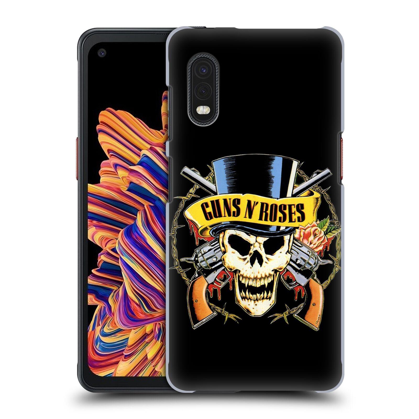 Plastové pouzdro na mobil Samsung Galaxy Xcover Pro - Head Case - Guns N' Roses - Lebka