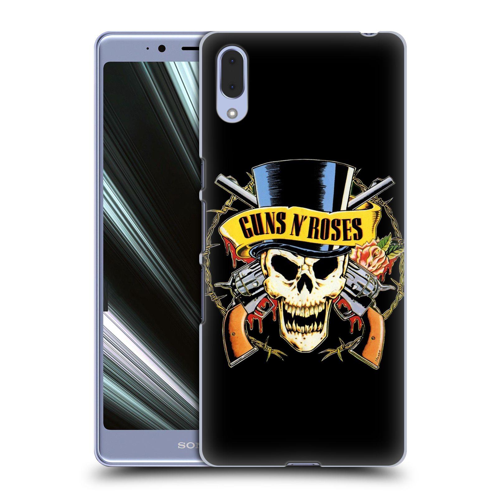 Plastové pouzdro na mobil Sony Xperia L3 - Head Case - Guns N' Roses - Lebka