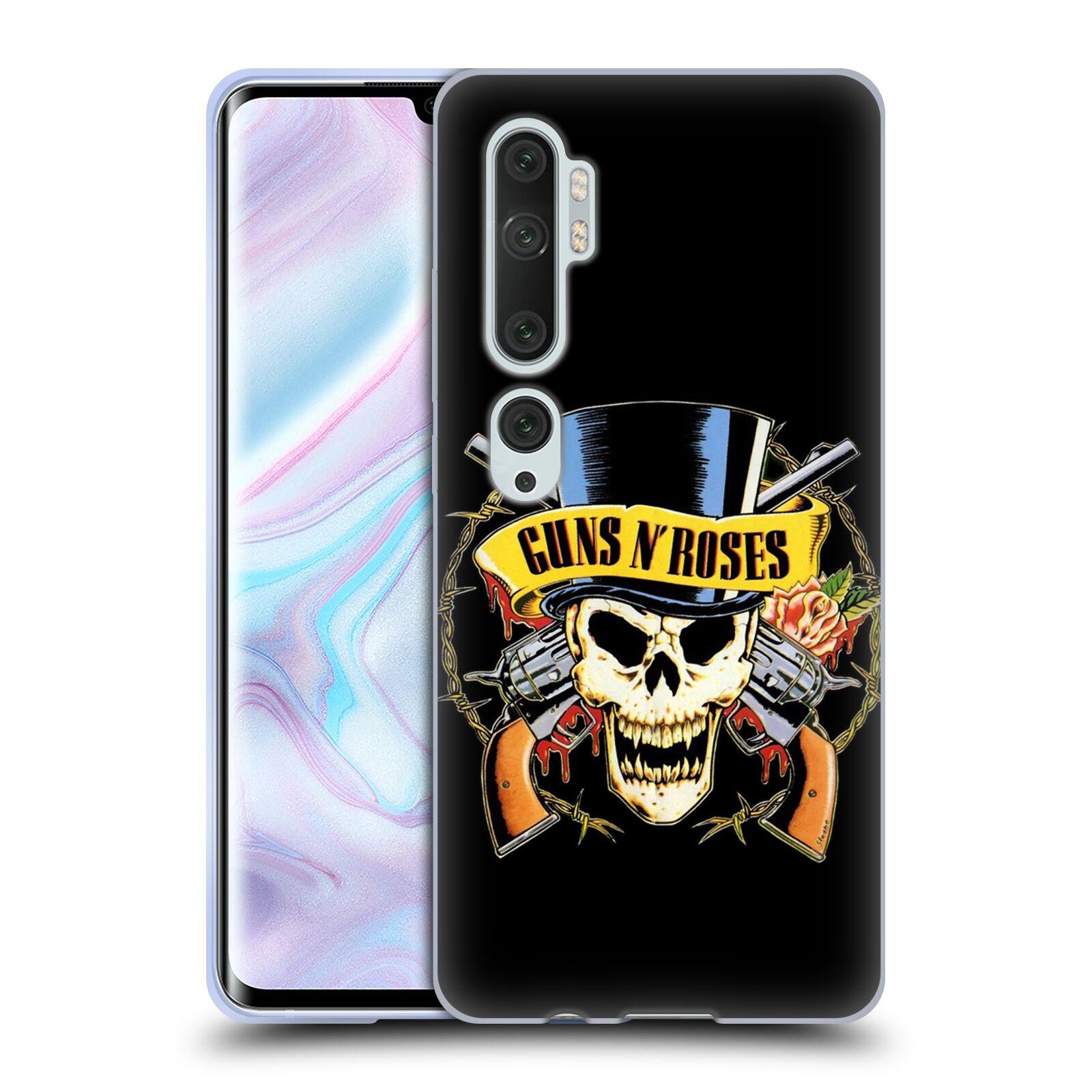 Silikonové pouzdro na mobil Xiaomi Mi Note 10 / 10 Pro - Head Case - Guns N' Roses - Lebka