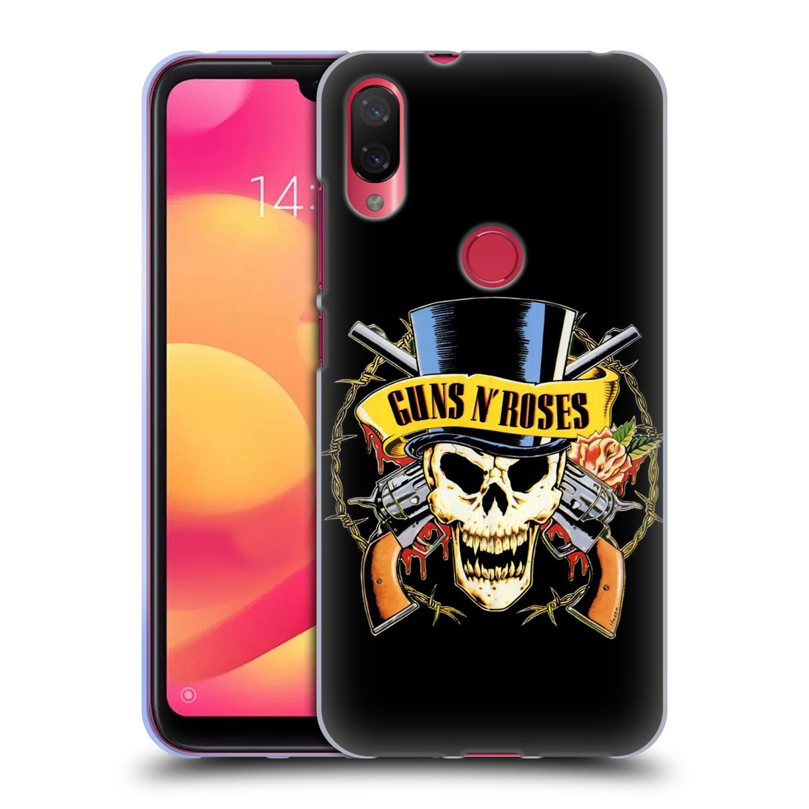 Silikonové pouzdro na mobil Xiaomi Mi Play - Head Case - Guns N' Roses - Lebka