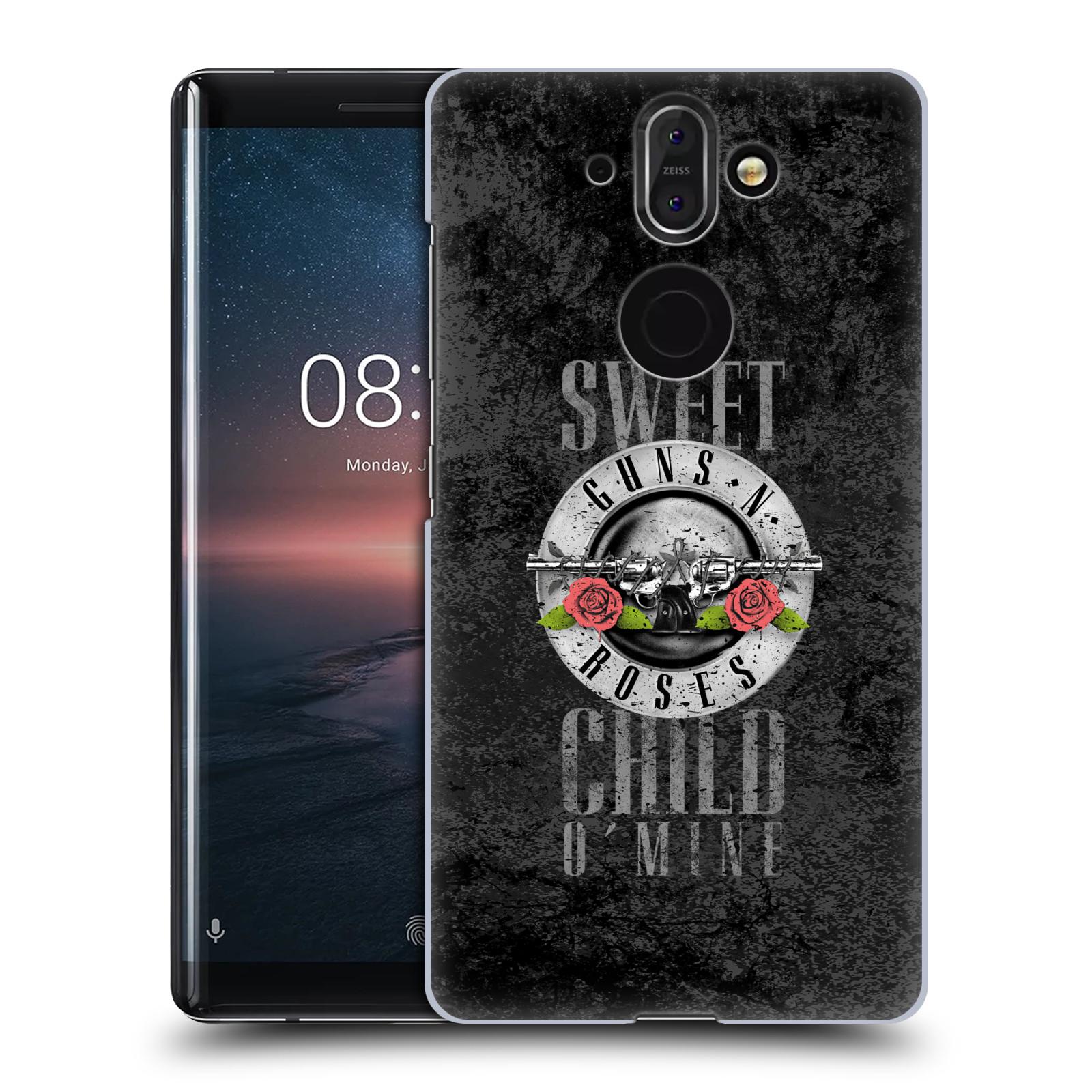 Plastové pouzdro na mobil Nokia 8 Sirocco - Head Case - Guns N' Roses - Sweet Child