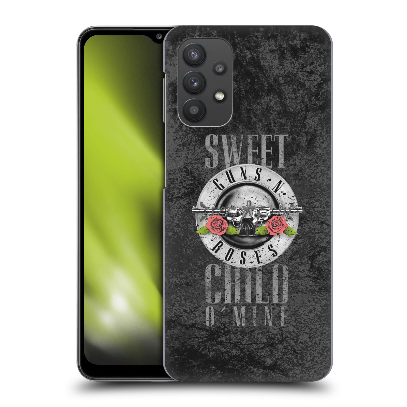 Plastové pouzdro na mobil Samsung Galaxy A32 5G - Head Case - Guns N' Roses - Sweet Child
