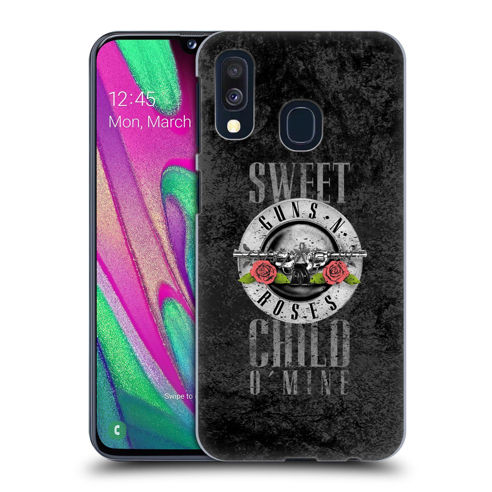 Plastové pouzdro na mobil Samsung Galaxy A40 - Head Case - Guns N' Roses - Sweet Child