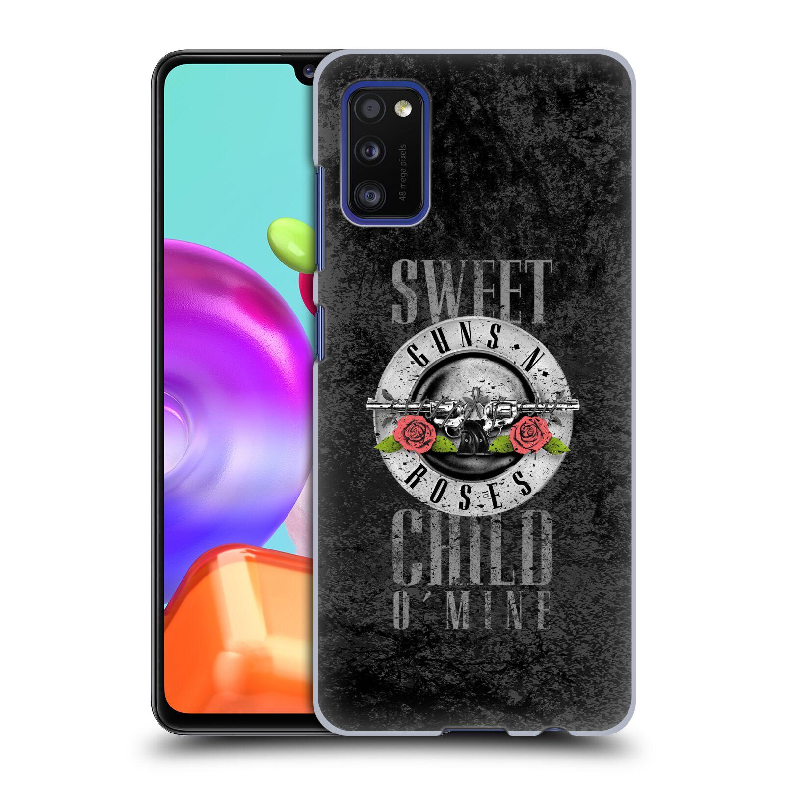 Plastové pouzdro na mobil Samsung Galaxy A41 - Head Case - Guns N' Roses - Sweet Child
