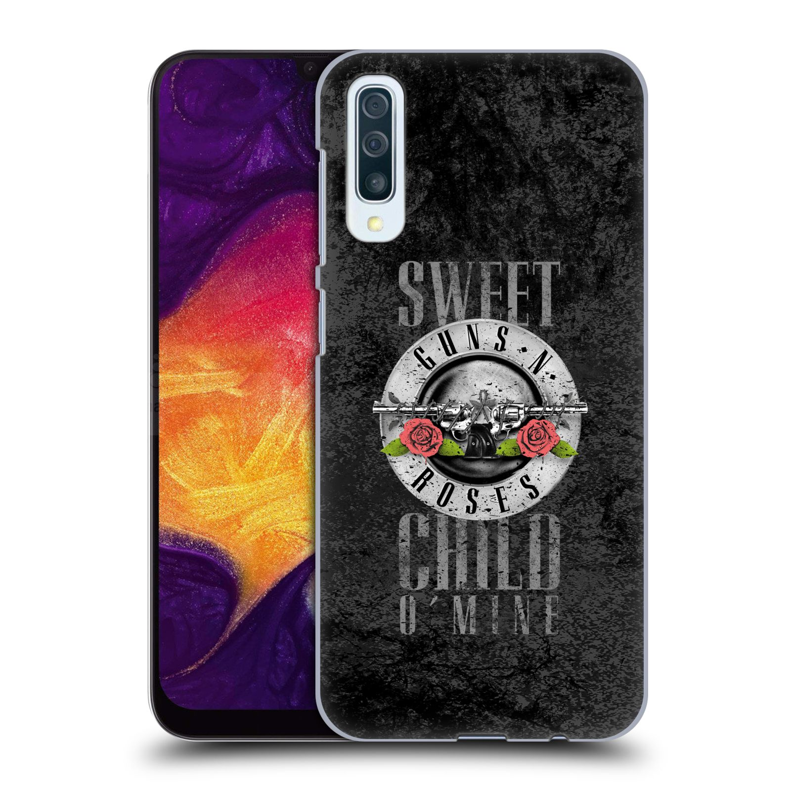 Plastové pouzdro na mobil Samsung Galaxy A50 - Head Case - Guns N' Roses - Sweet Child