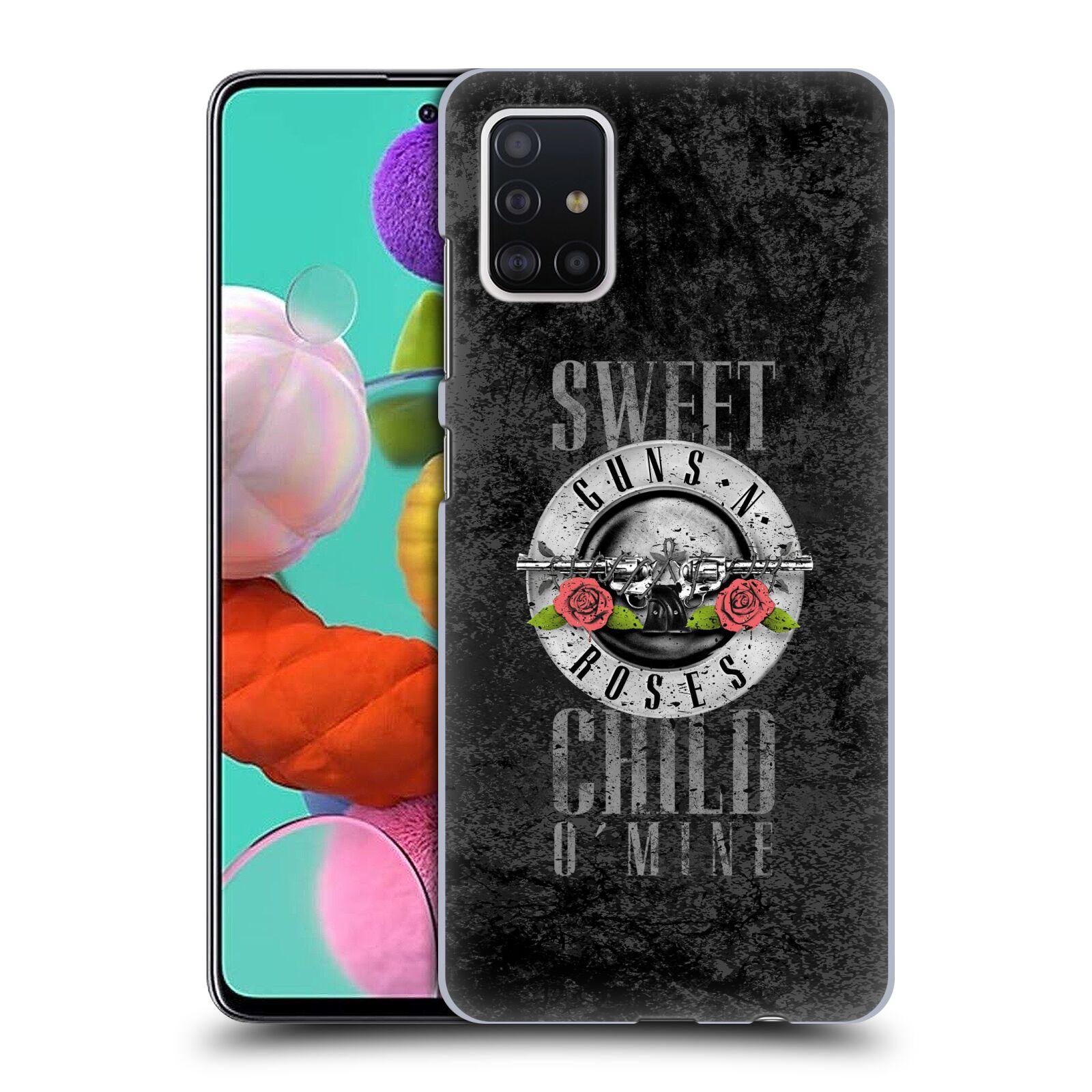 Plastové pouzdro na mobil Samsung Galaxy A51 - Head Case - Guns N' Roses - Sweet Child