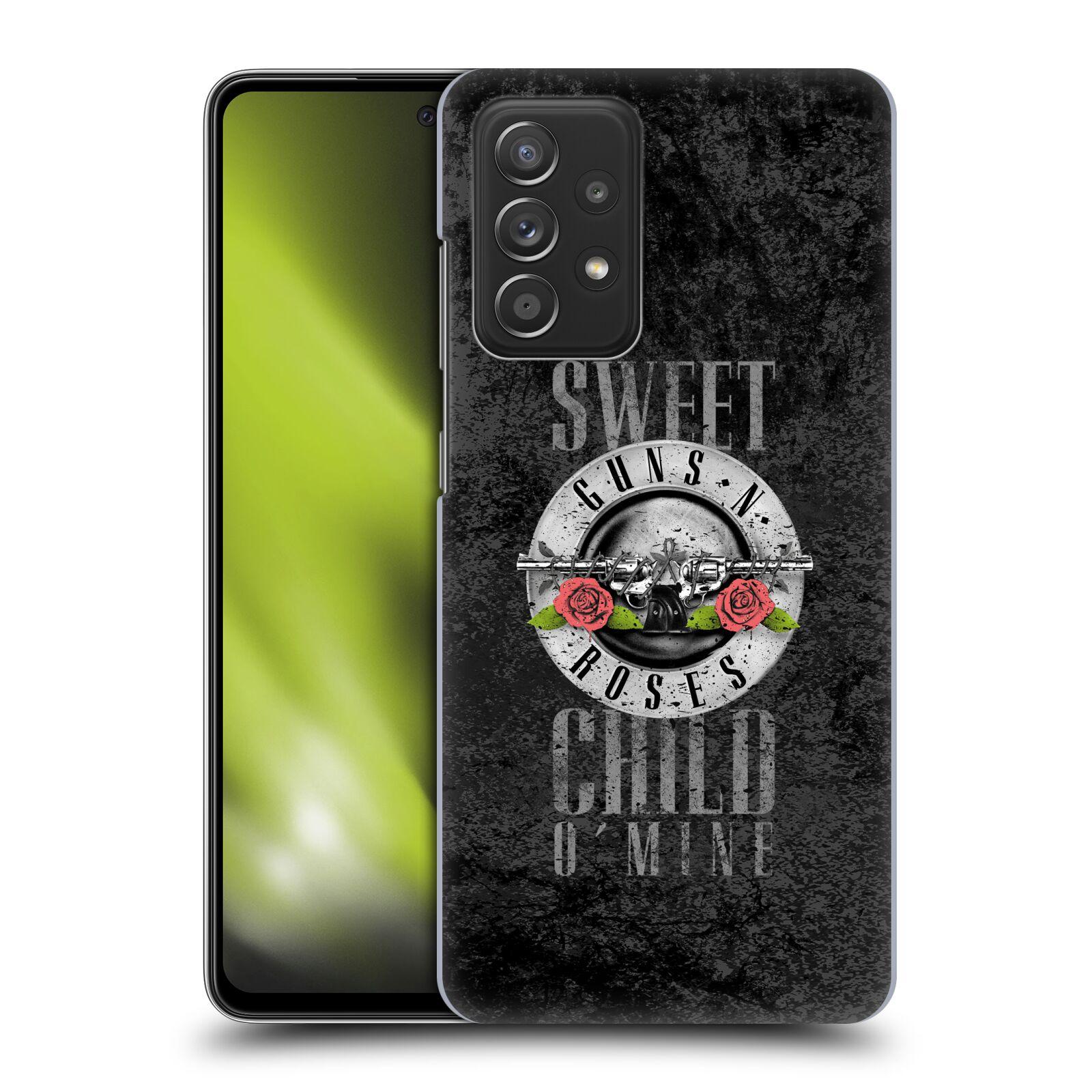 Plastové pouzdro na mobil Samsung Galaxy A52 / A52 5G / A52s 5G - Head Case - Guns N' Roses - Sweet Child