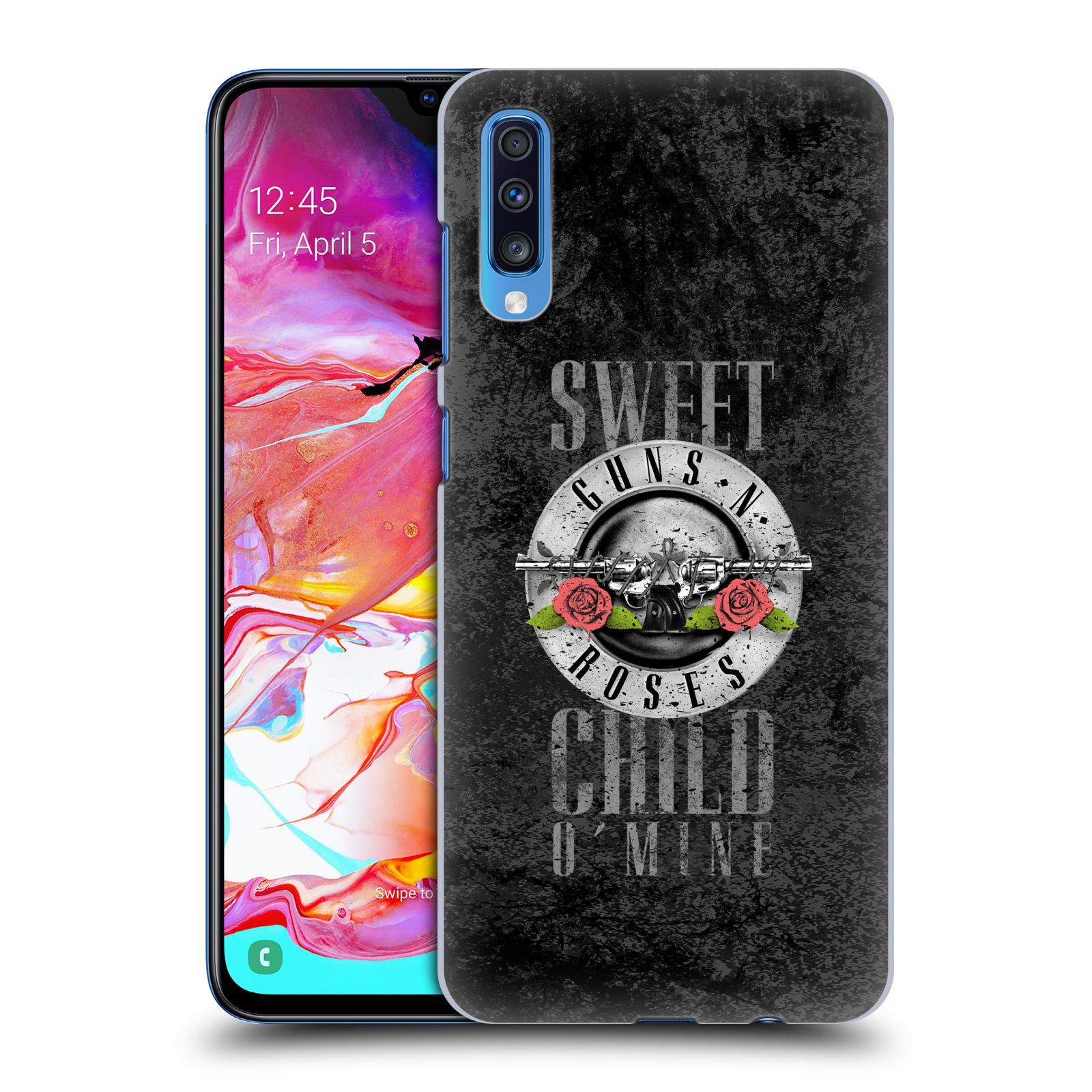 Plastové pouzdro na mobil Samsung Galaxy A70 - Head Case - Guns N' Roses - Sweet Child