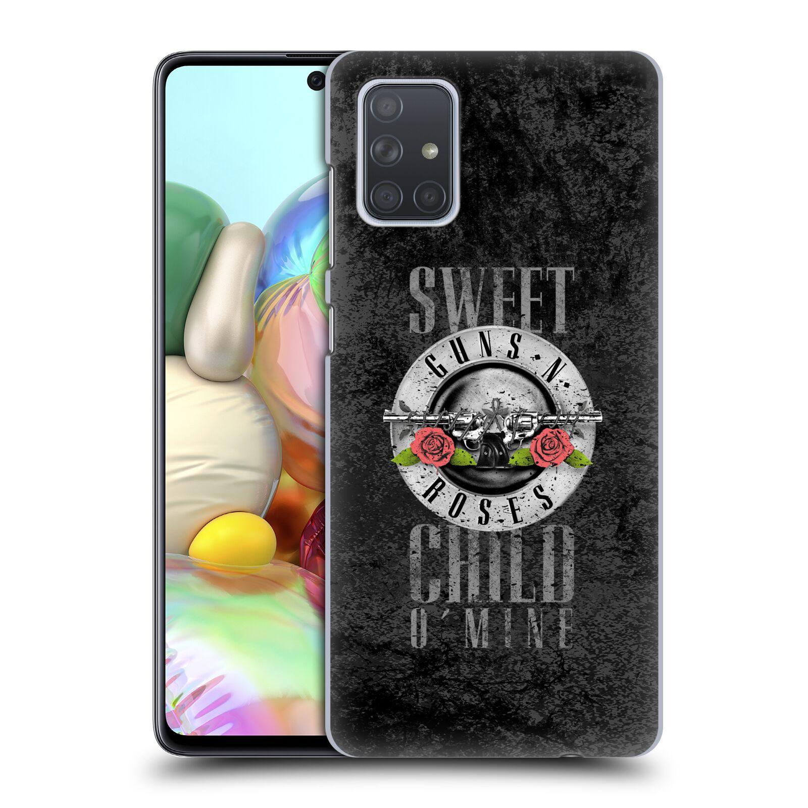 Plastové pouzdro na mobil Samsung Galaxy A71 - Head Case - Guns N' Roses - Sweet Child