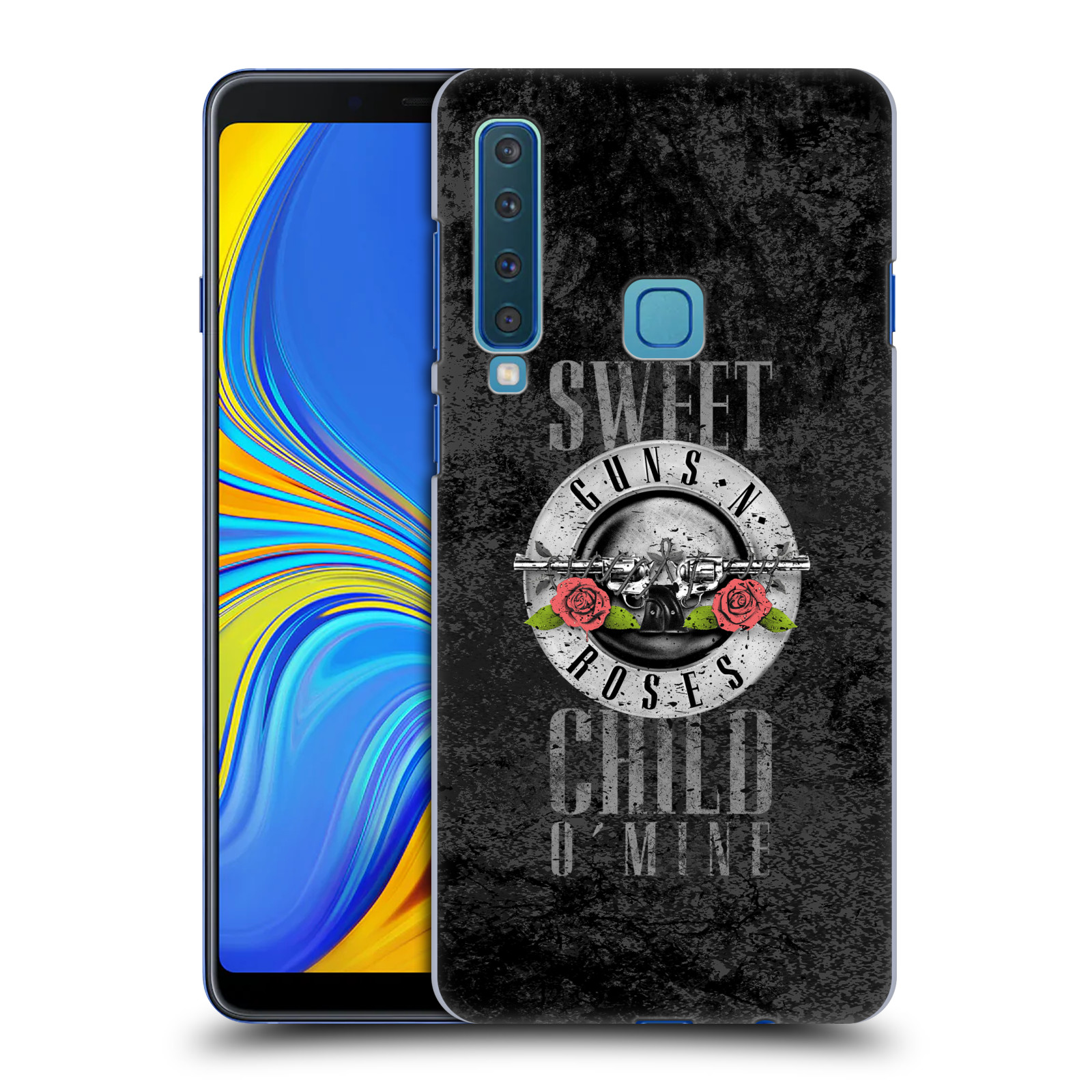 Plastové pouzdro na mobil Samsung Galaxy A9 (2018) - Head Case - Guns N' Roses - Sweet Child