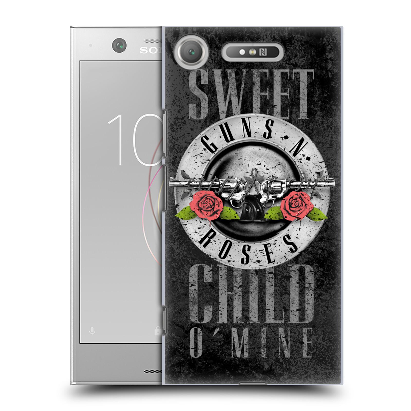 Plastové pouzdro na mobil Sony Xperia XZ1 - Head Case - Guns N' Roses - Sweet Child