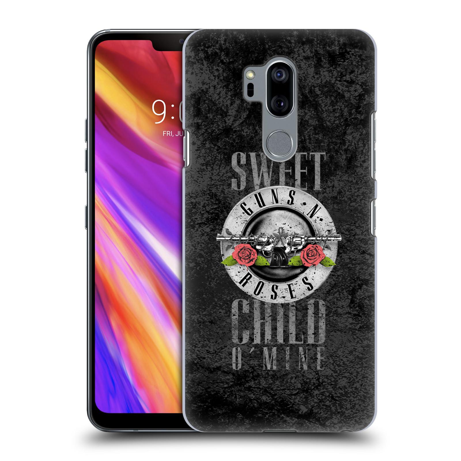 Plastové pouzdro na mobil LG G7 ThinQ - Head Case - Guns N' Roses - Sweet Child