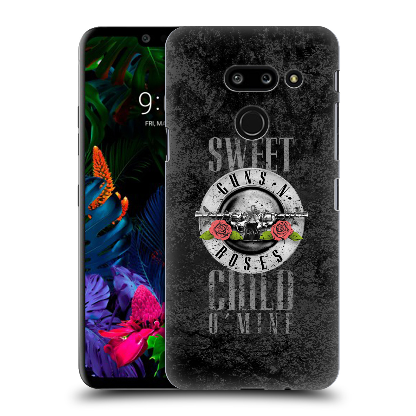 Plastové pouzdro na mobil LG G8 ThinQ - Head Case - Guns N' Roses - Sweet Child