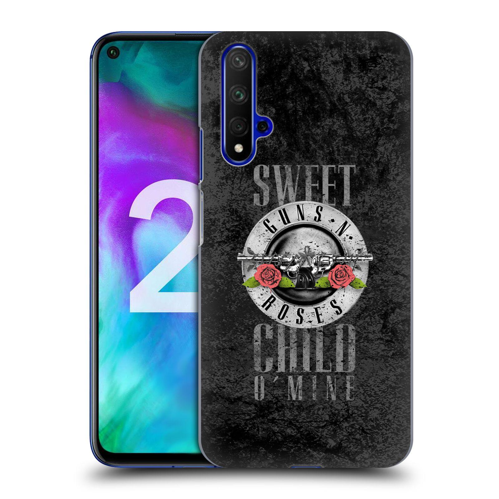 Plastové pouzdro na mobil Honor 20 - Head Case - Guns N' Roses - Sweet Child