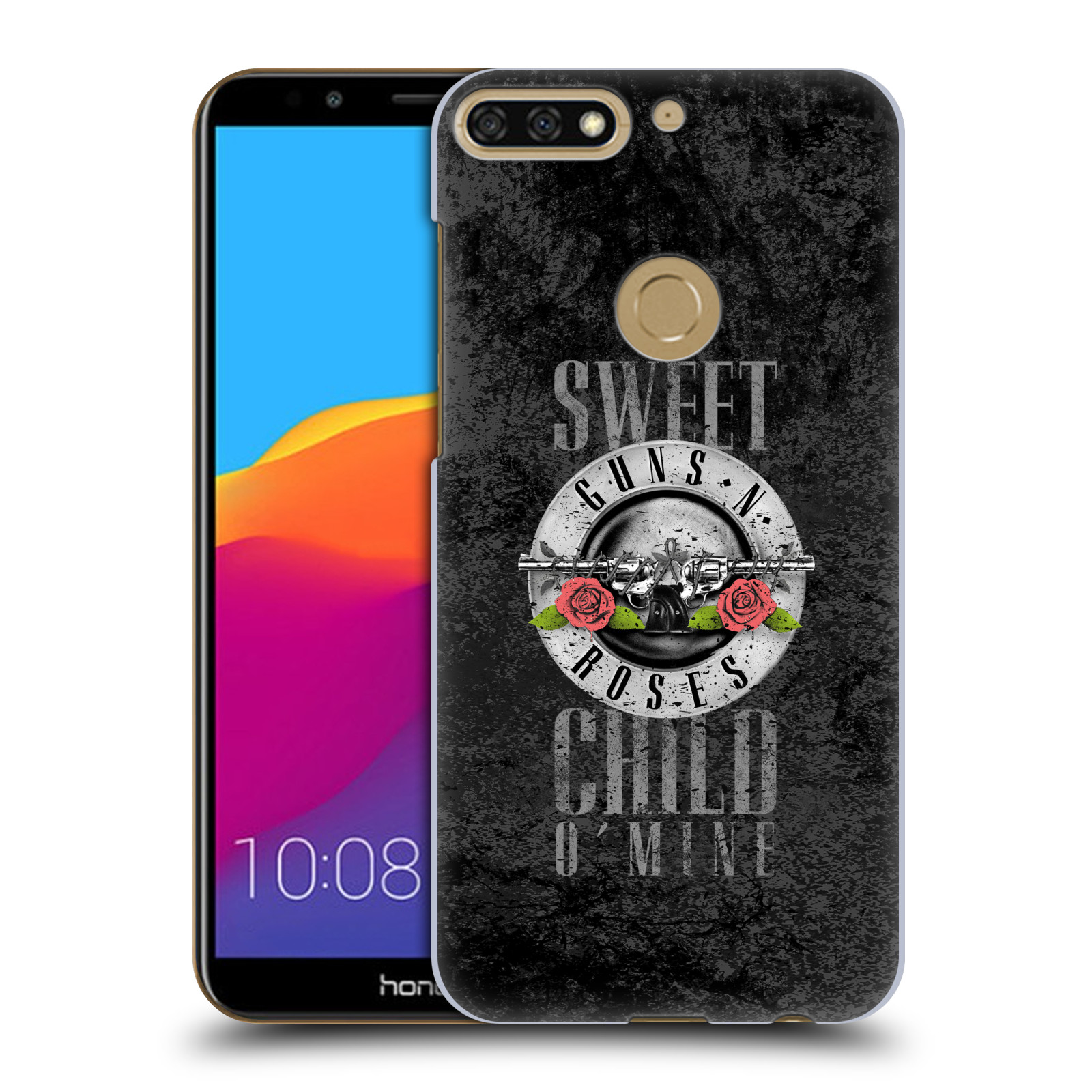 Plastové pouzdro na mobil Huawei Y7 Prime 2018 - Head Case - Guns N' Roses - Sweet Child