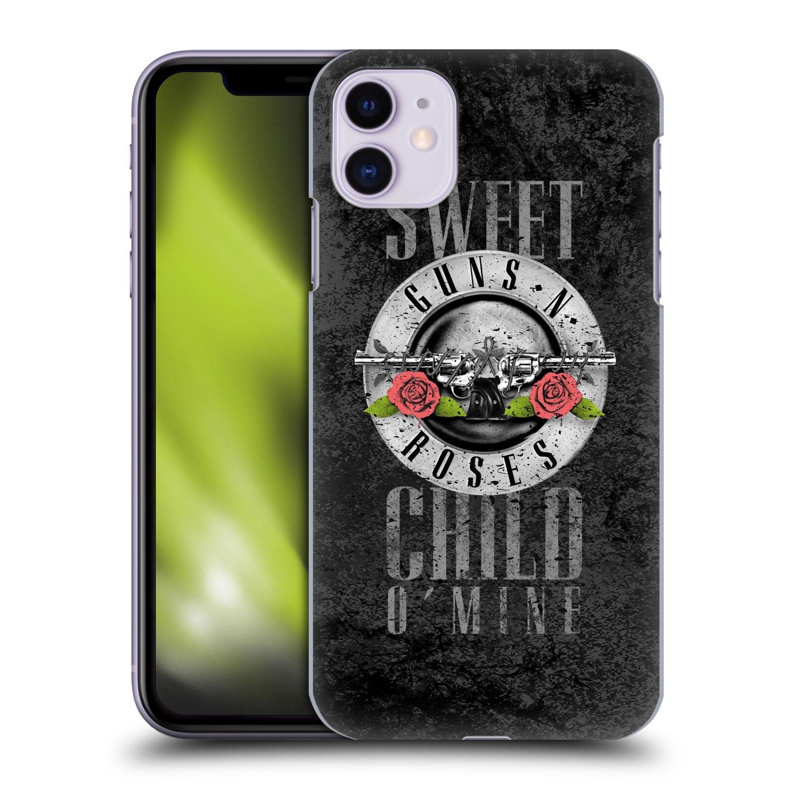 Plastové pouzdro na mobil Apple iPhone 11 - Head Case - Guns N' Roses - Sweet Child